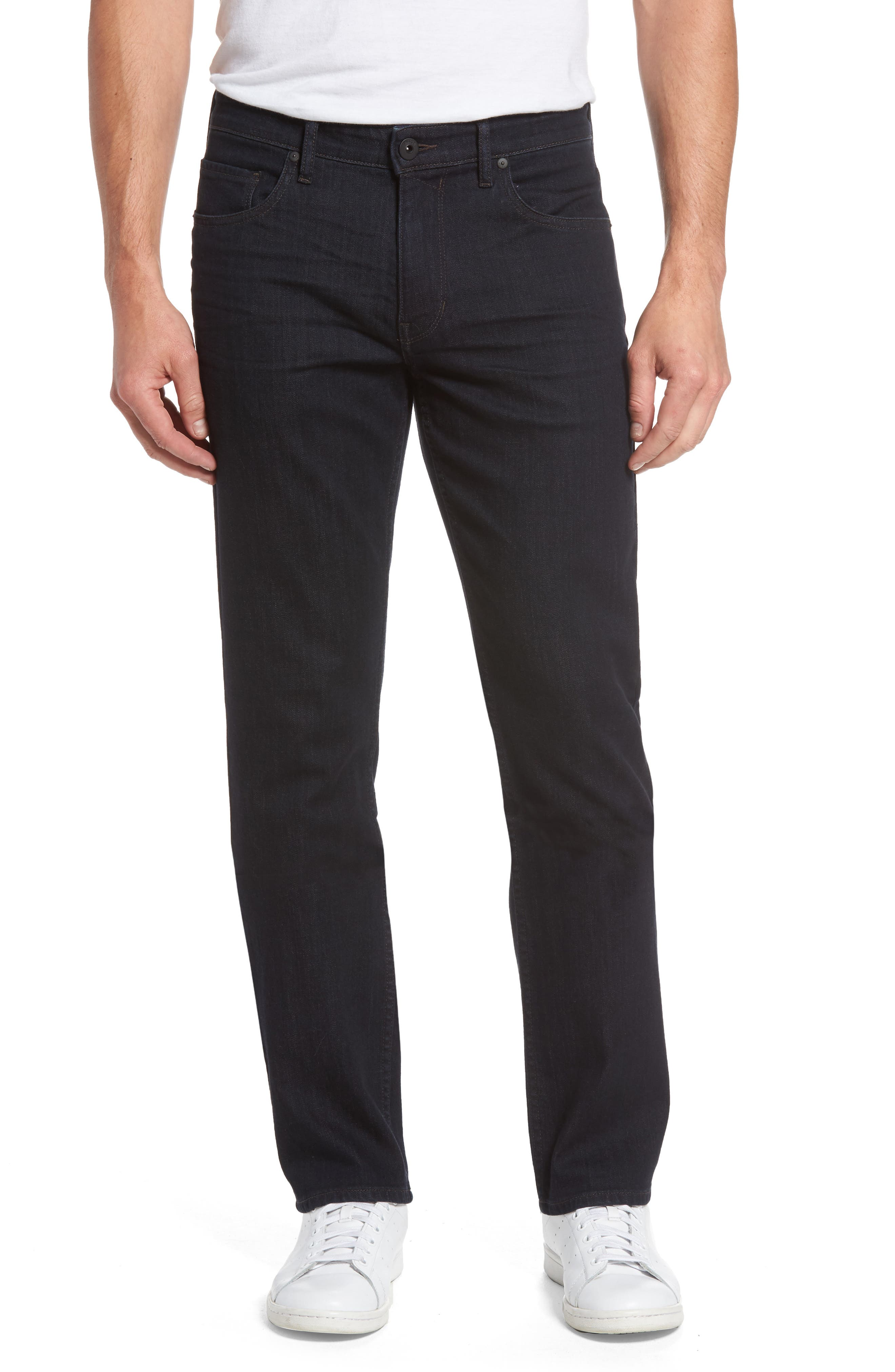 PAIGE Normandie Straight Fit Jeans (Rowe)