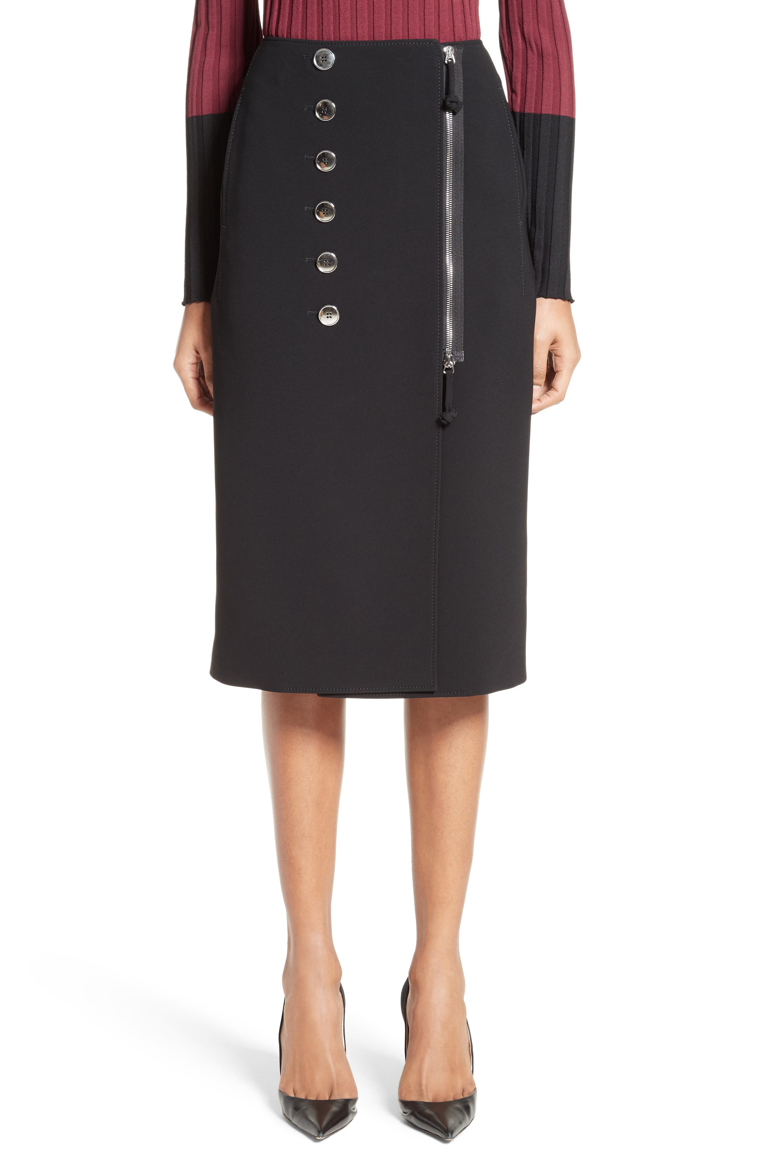 Sorrel Pencil Skirt,                         Main,                         color, Black
