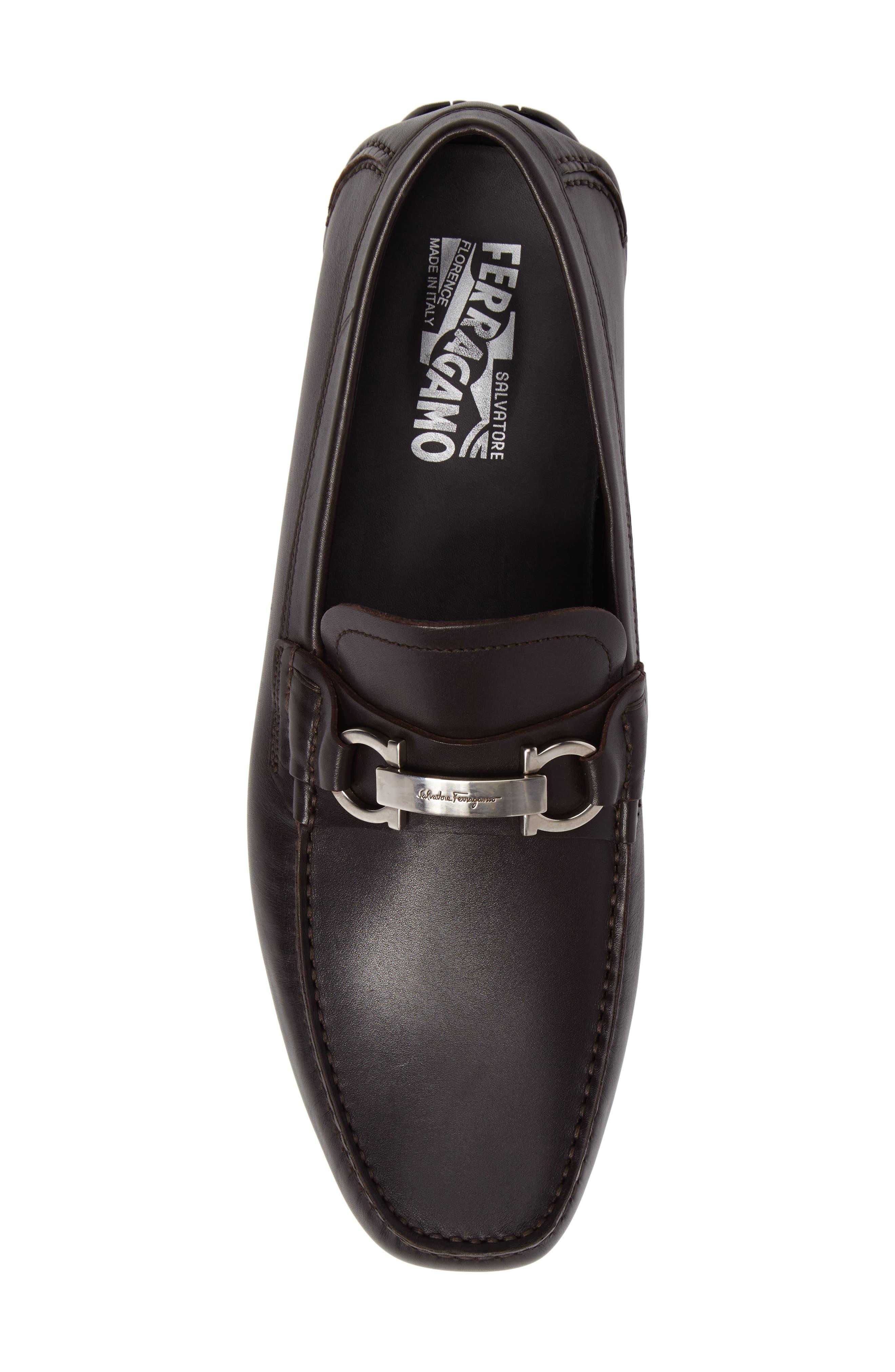 Alternate Image 5  - Salvatore Ferragamo Driving Shoe (Men)