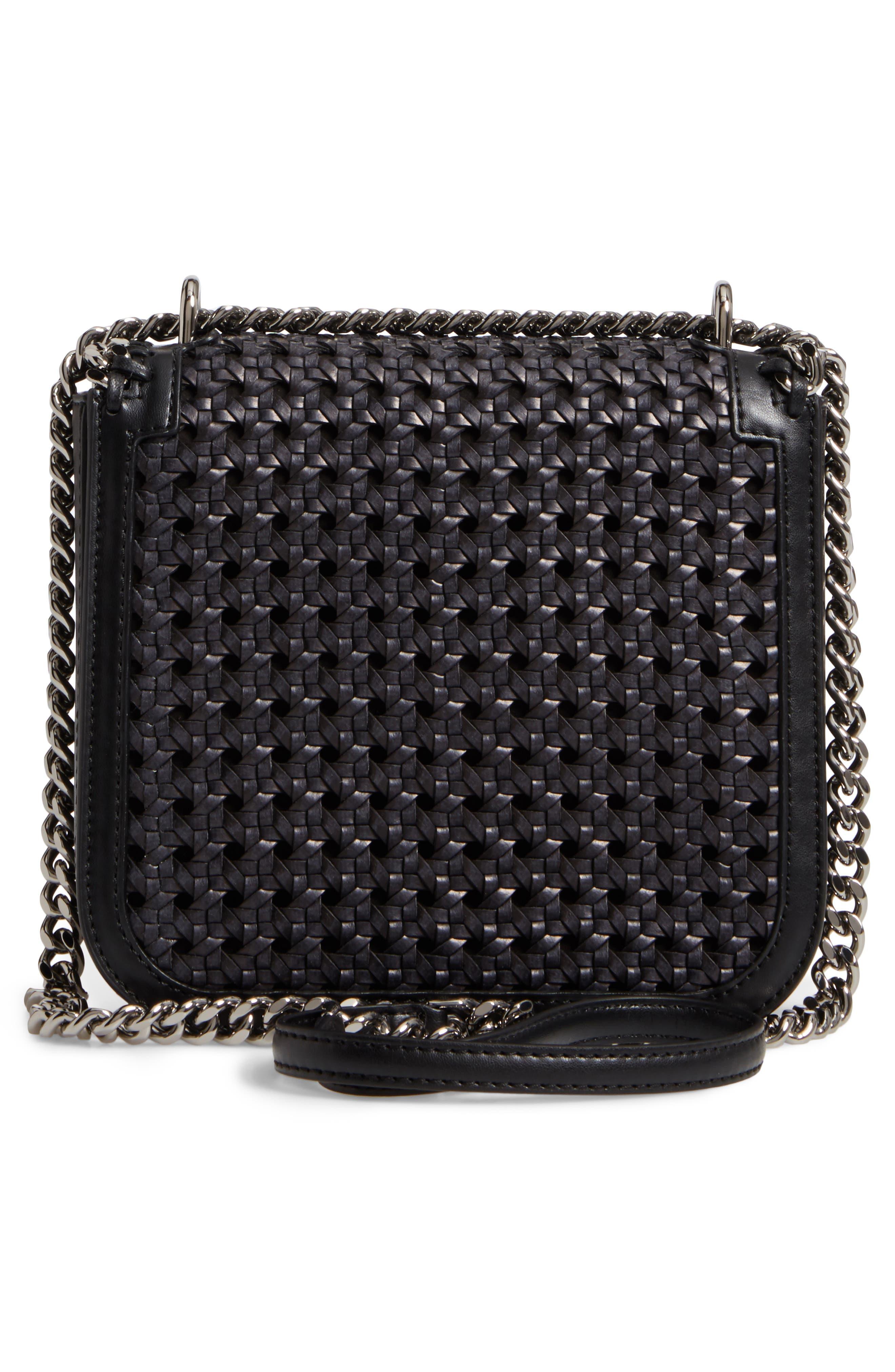 Alternate Image 2  - Stella McCartney Falabella Box Woven Faux Leather Shoulder Bag
