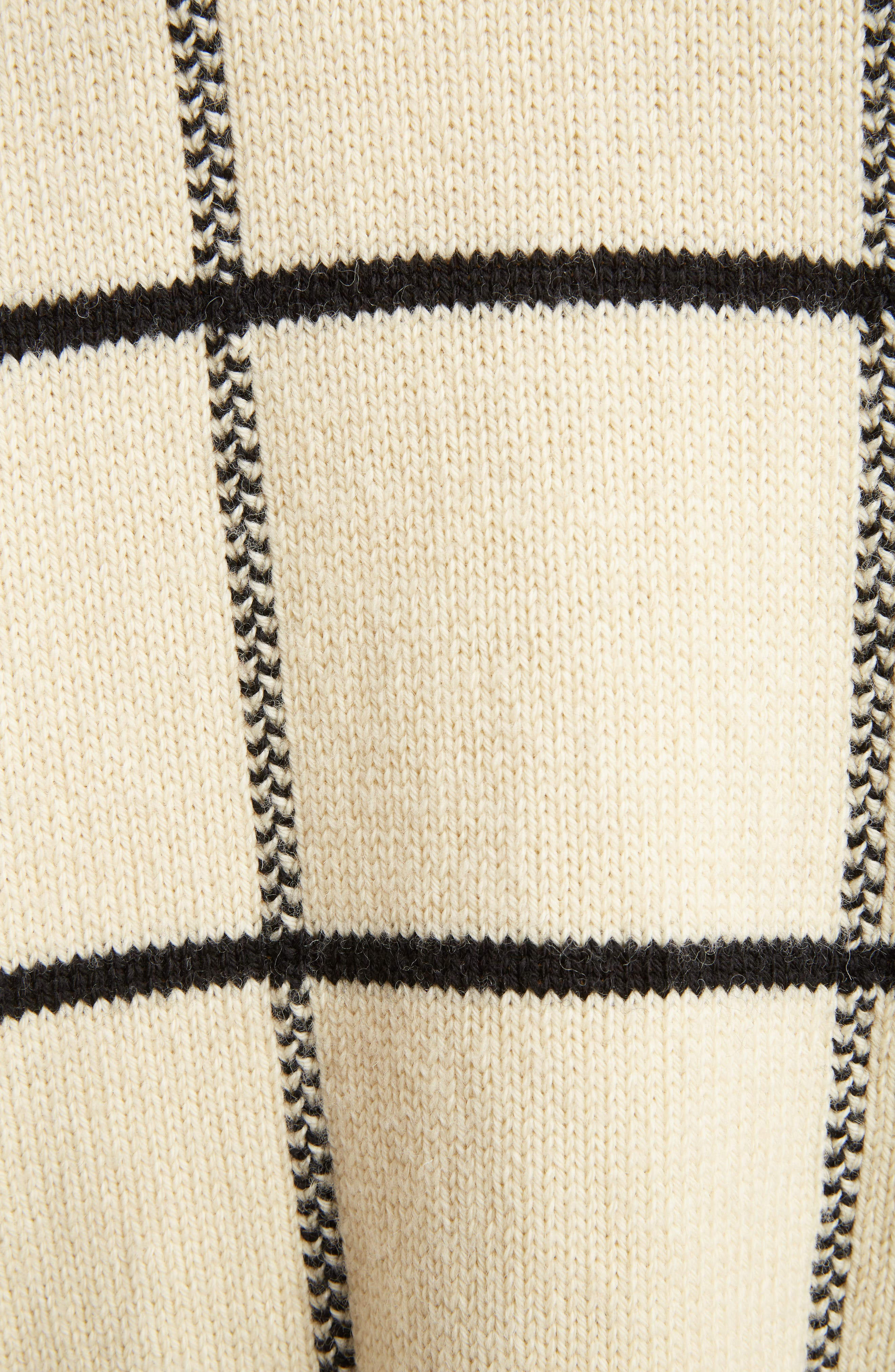 Alternate Image 3  - Dries Van Noten Windowpane Knit Wool Sweater