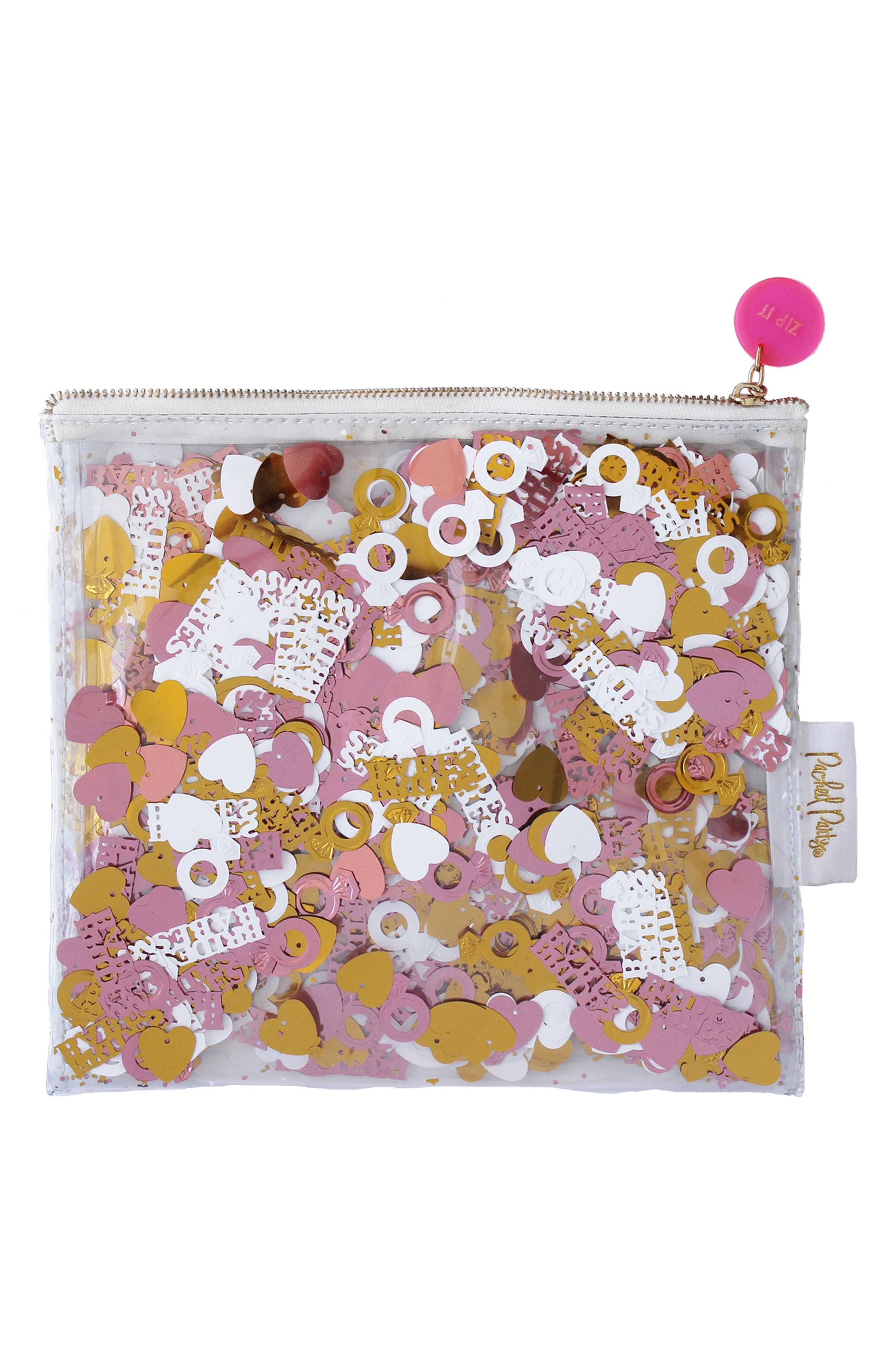 Packed Party Bride Zip Pouch