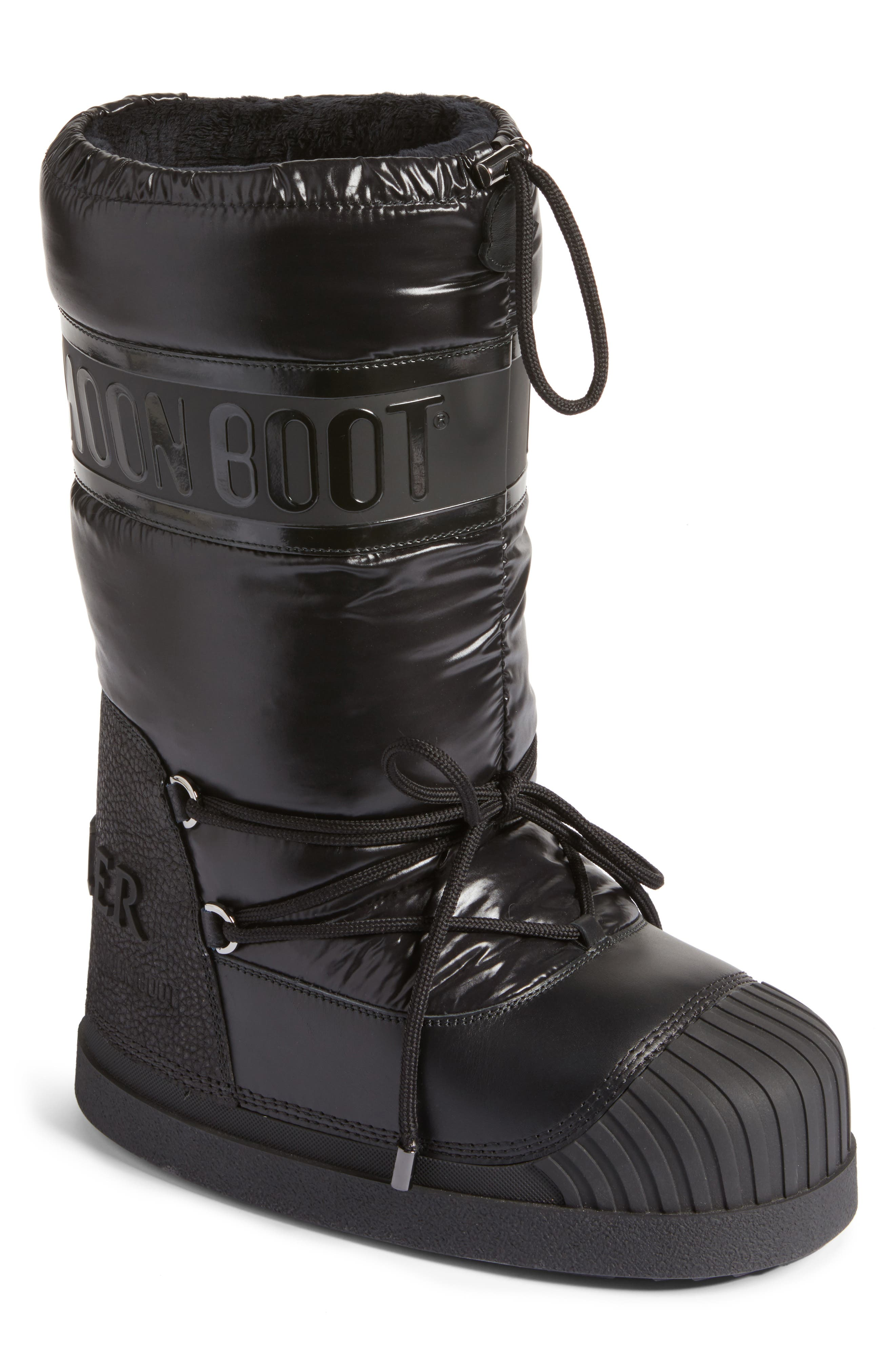 Venus Moon Boot,                         Main,                         color, Black
