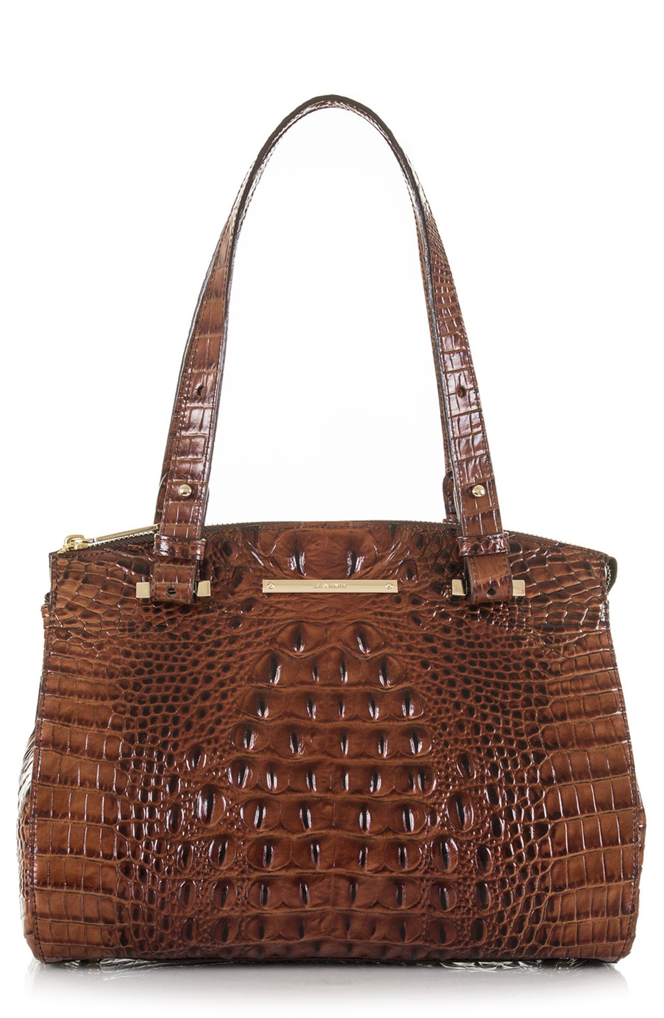 Main Image - Brahmin Small Alice Melbourne Leather Satchel