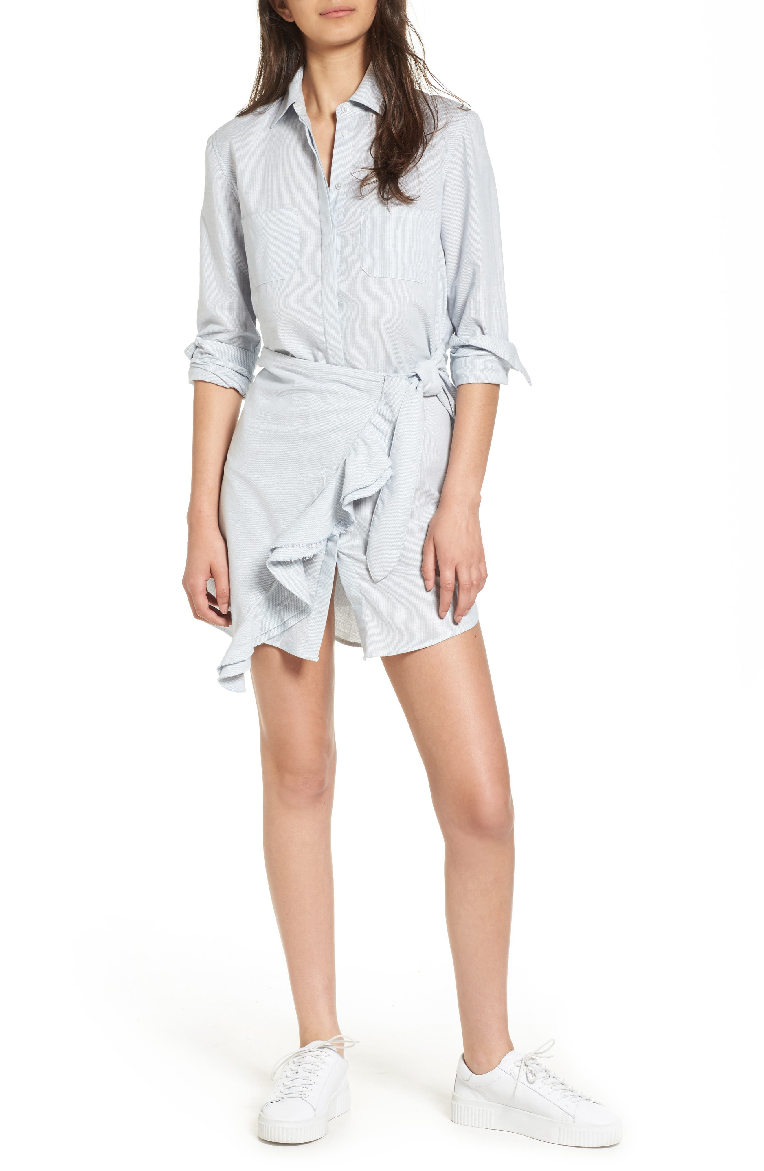 MCGUIRE Talitha Wrap Shirtdress