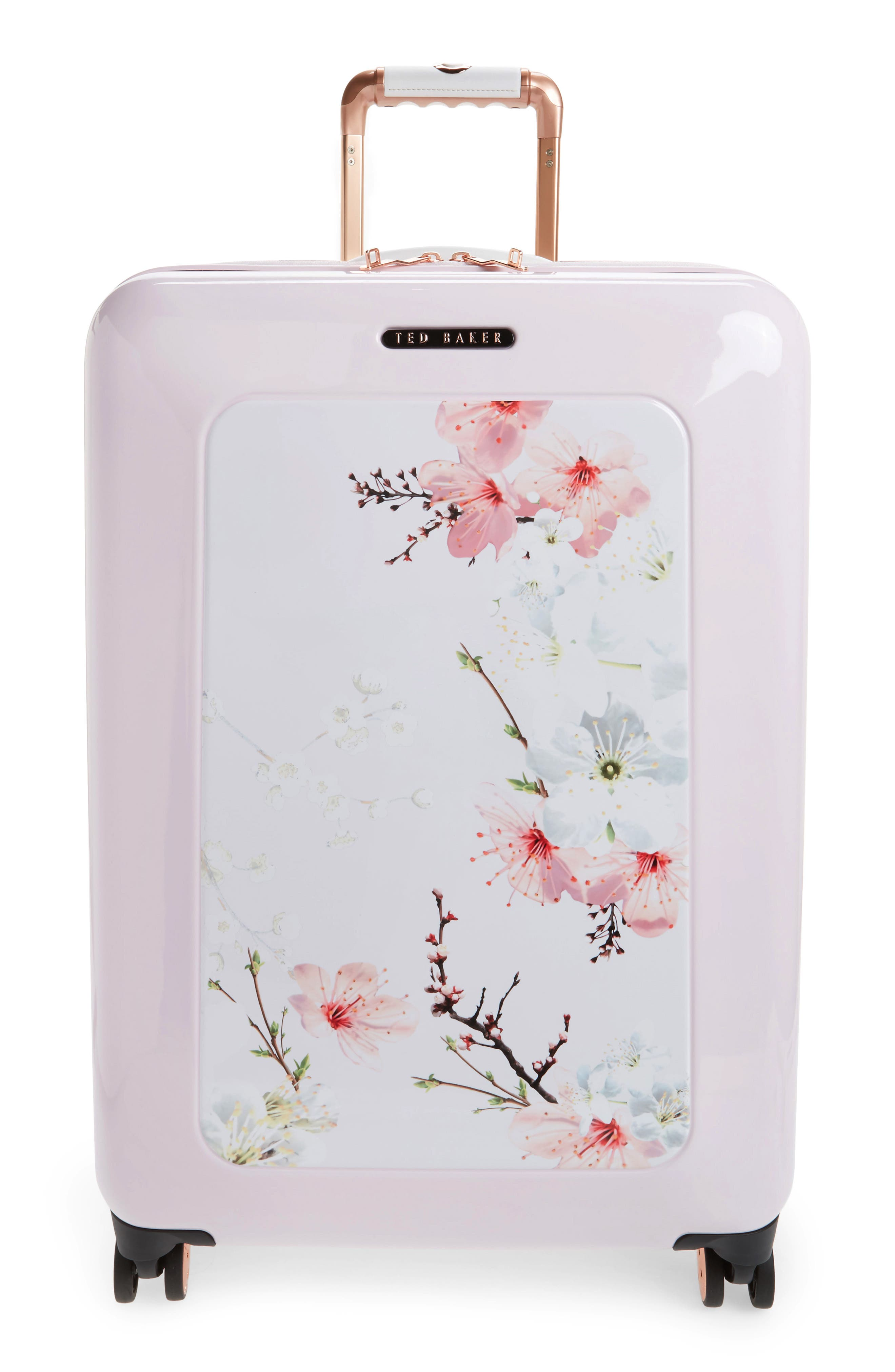 Main Image - Ted Baker London Medium Gem Gardens 26-Inch Hard Shell Spinner Suitcase