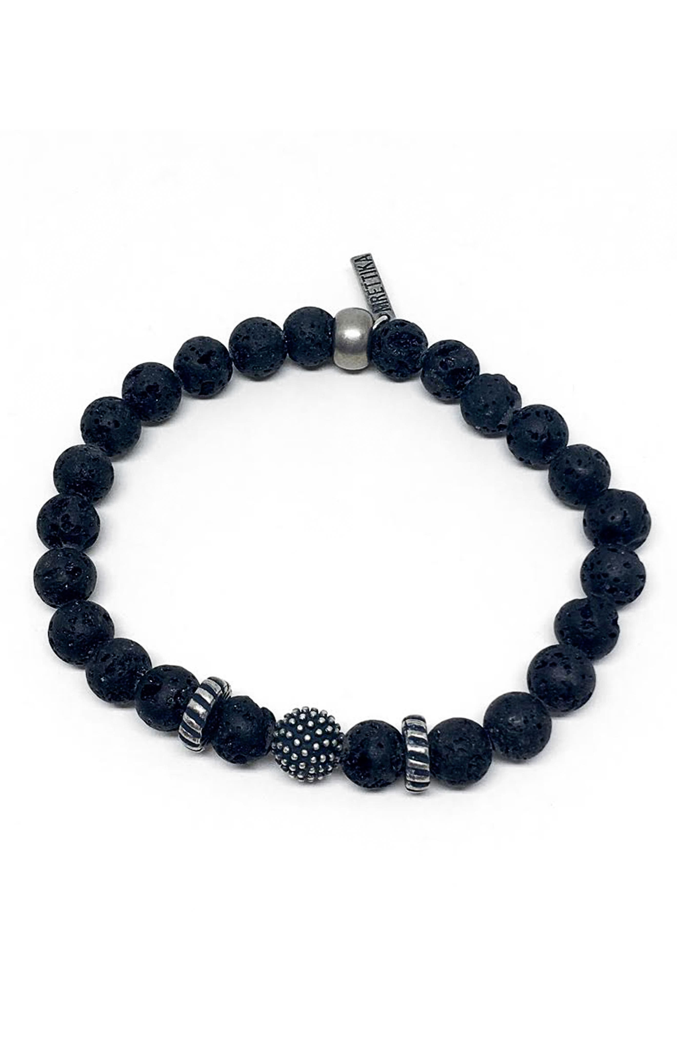 Ghost Town Bracelet,                         Main,                         color, Black