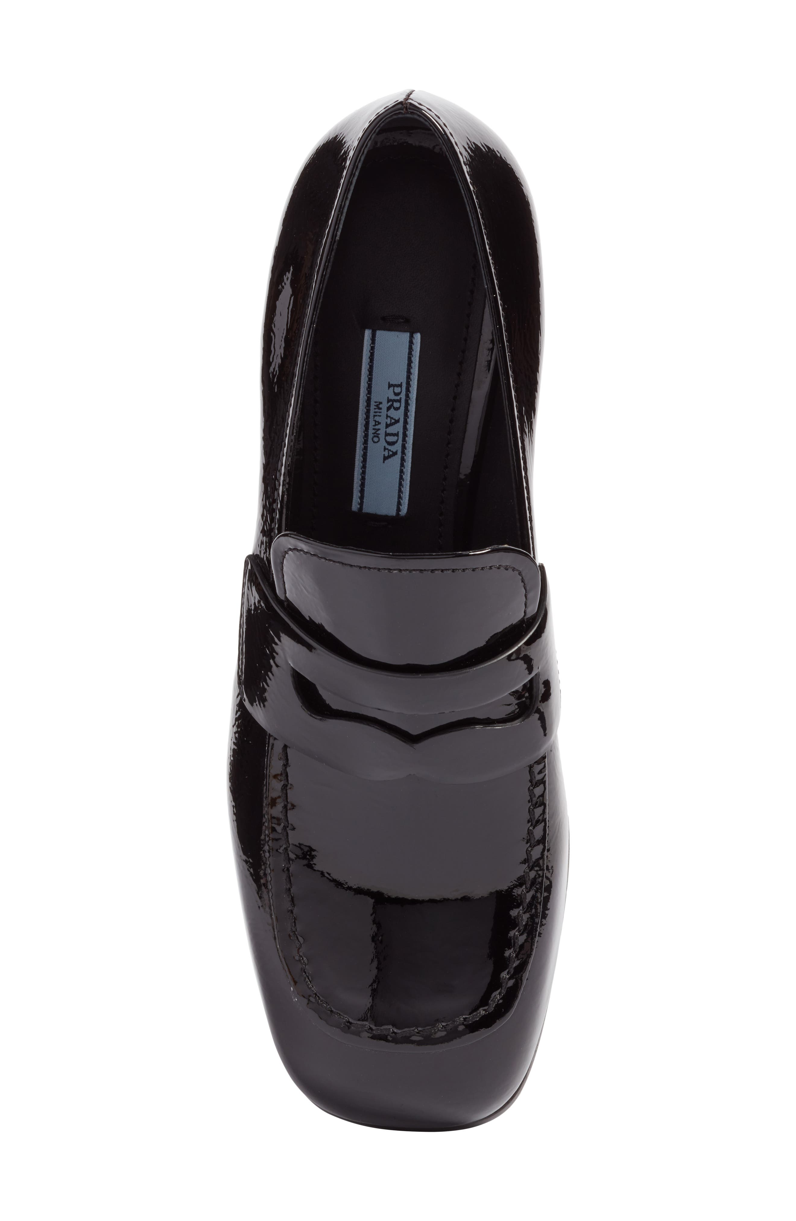 Embellished Loafer,                             Alternate thumbnail 5, color,                             Black