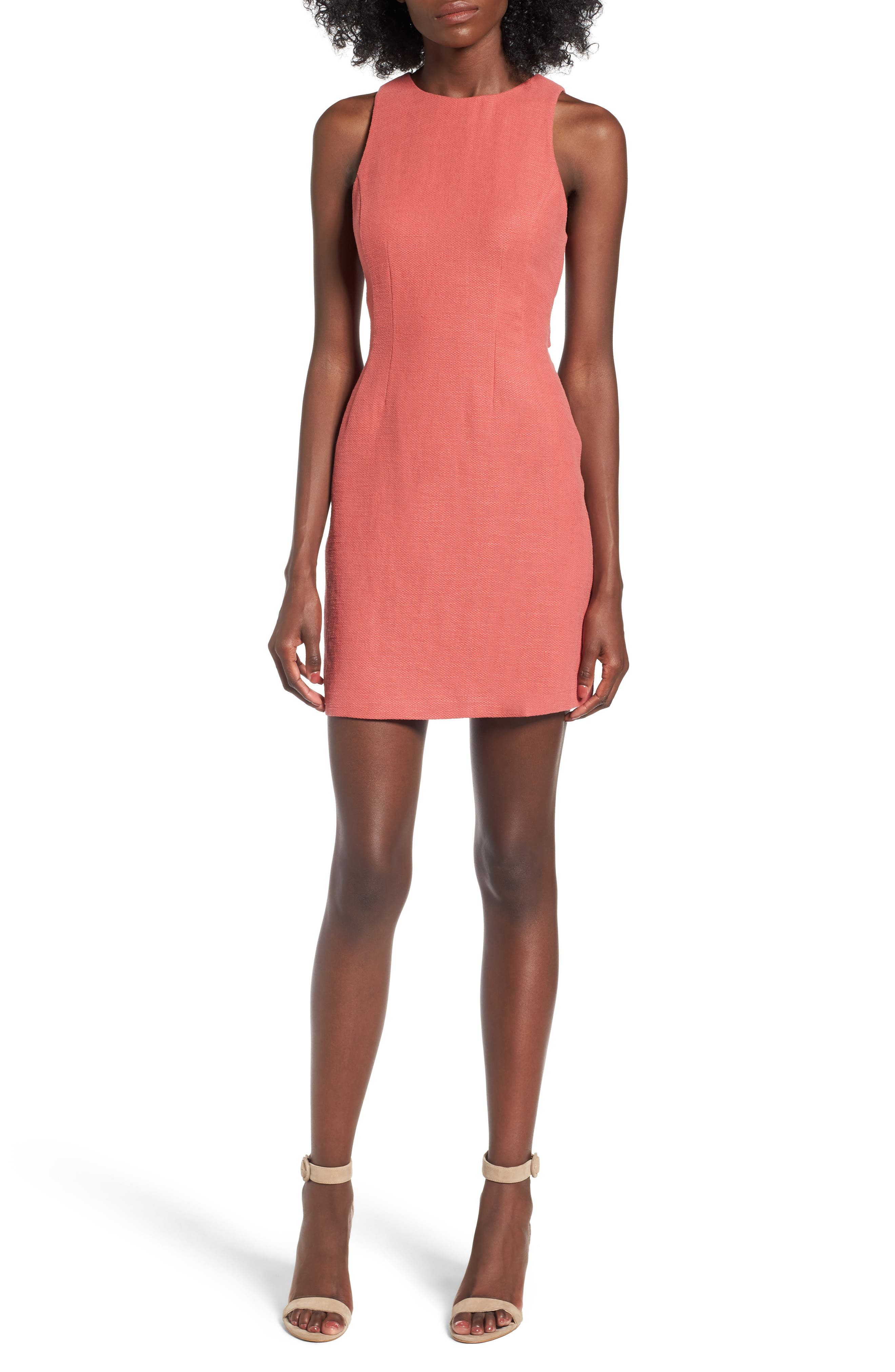ASTR THE LABEL Jimena Shift Dress