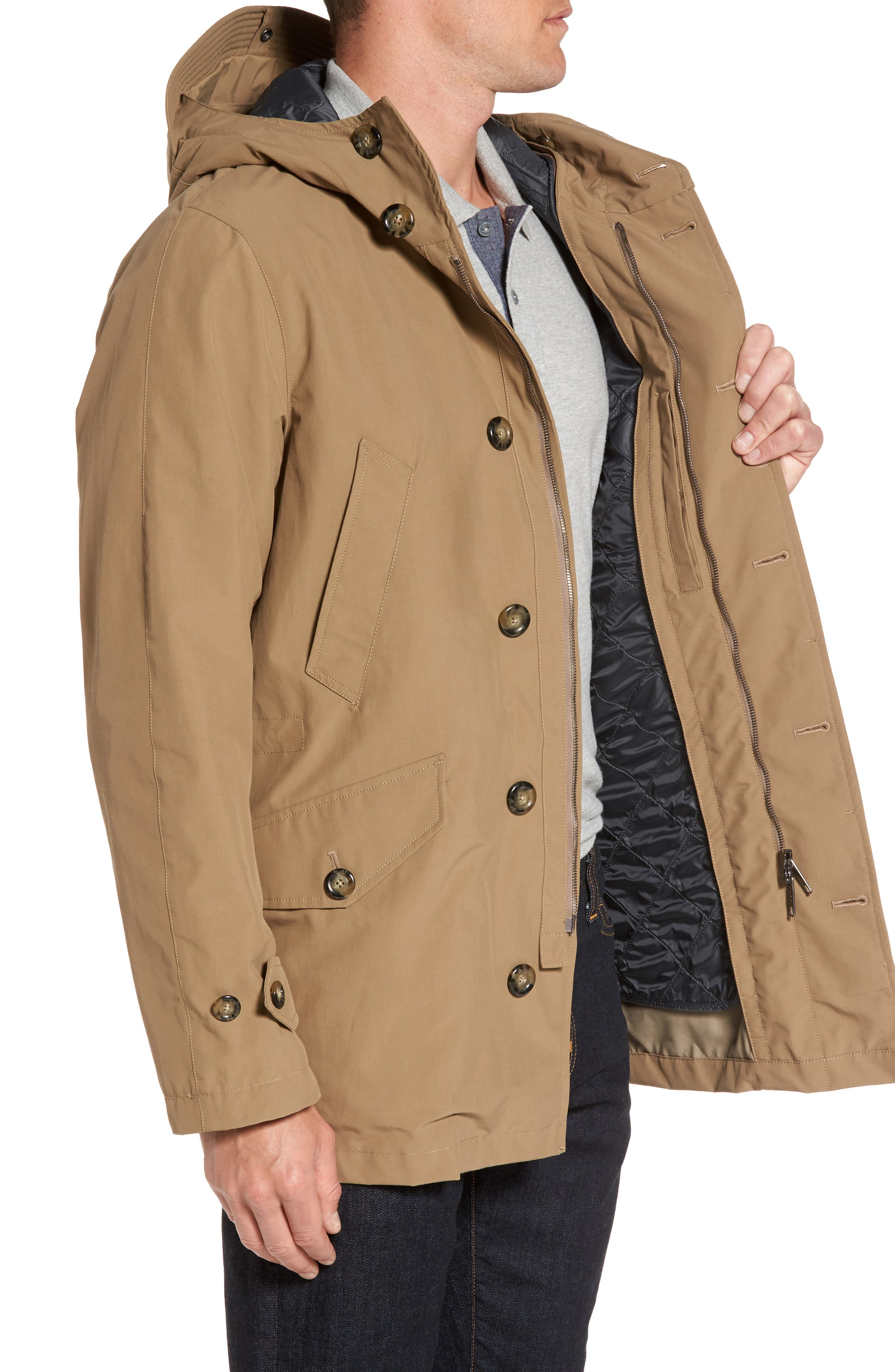 Alternate Image 3  - Baracuta Knott Waterproof Parka