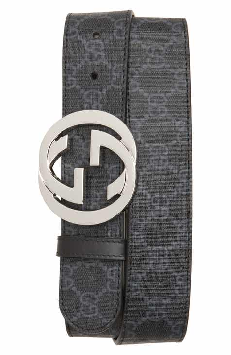 Gucci Logo Buckle Interlocking Belt 579e8fc7ae5
