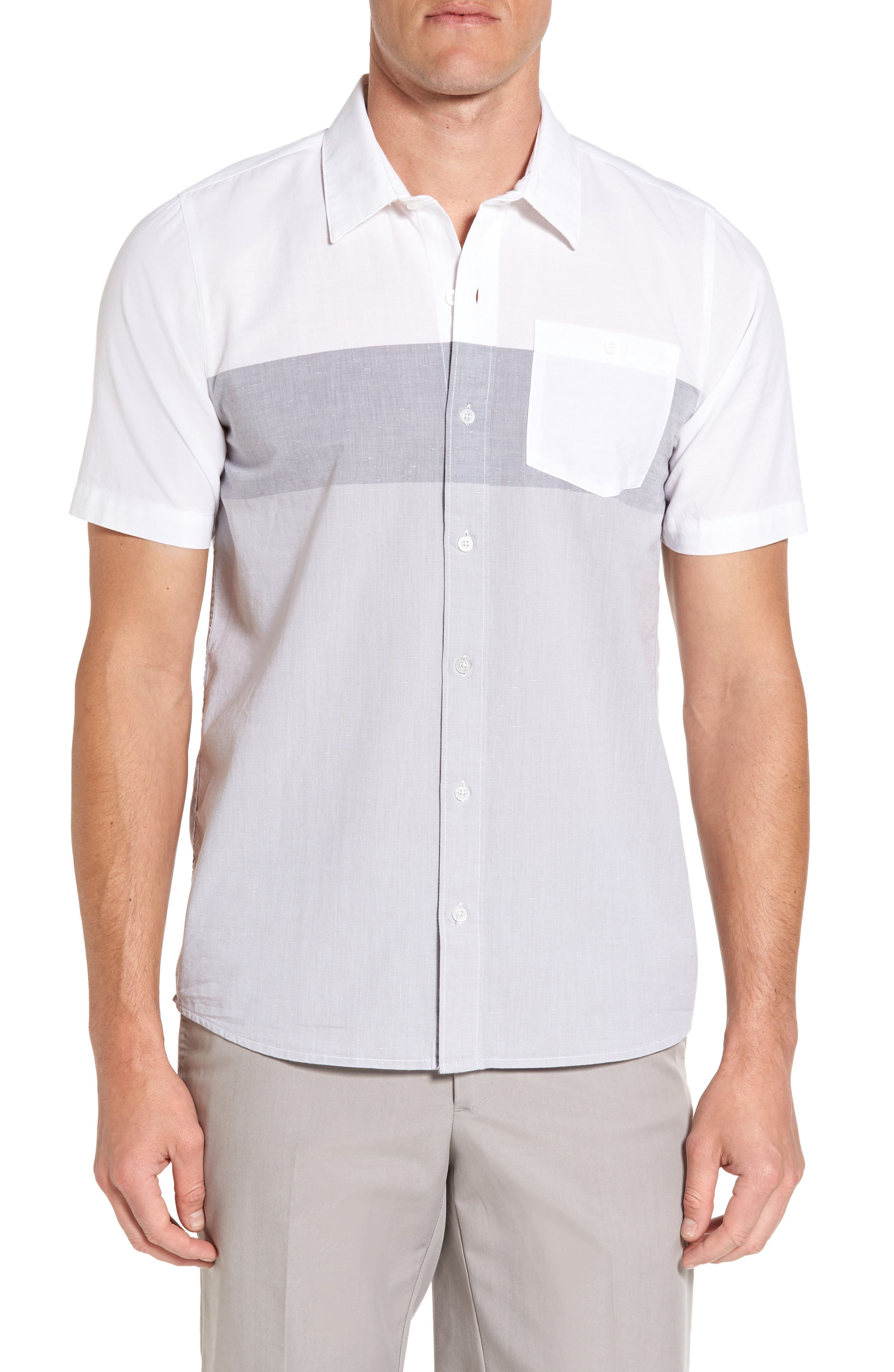 Travis Matthew Valdez Short Sleeve Sport Shirt