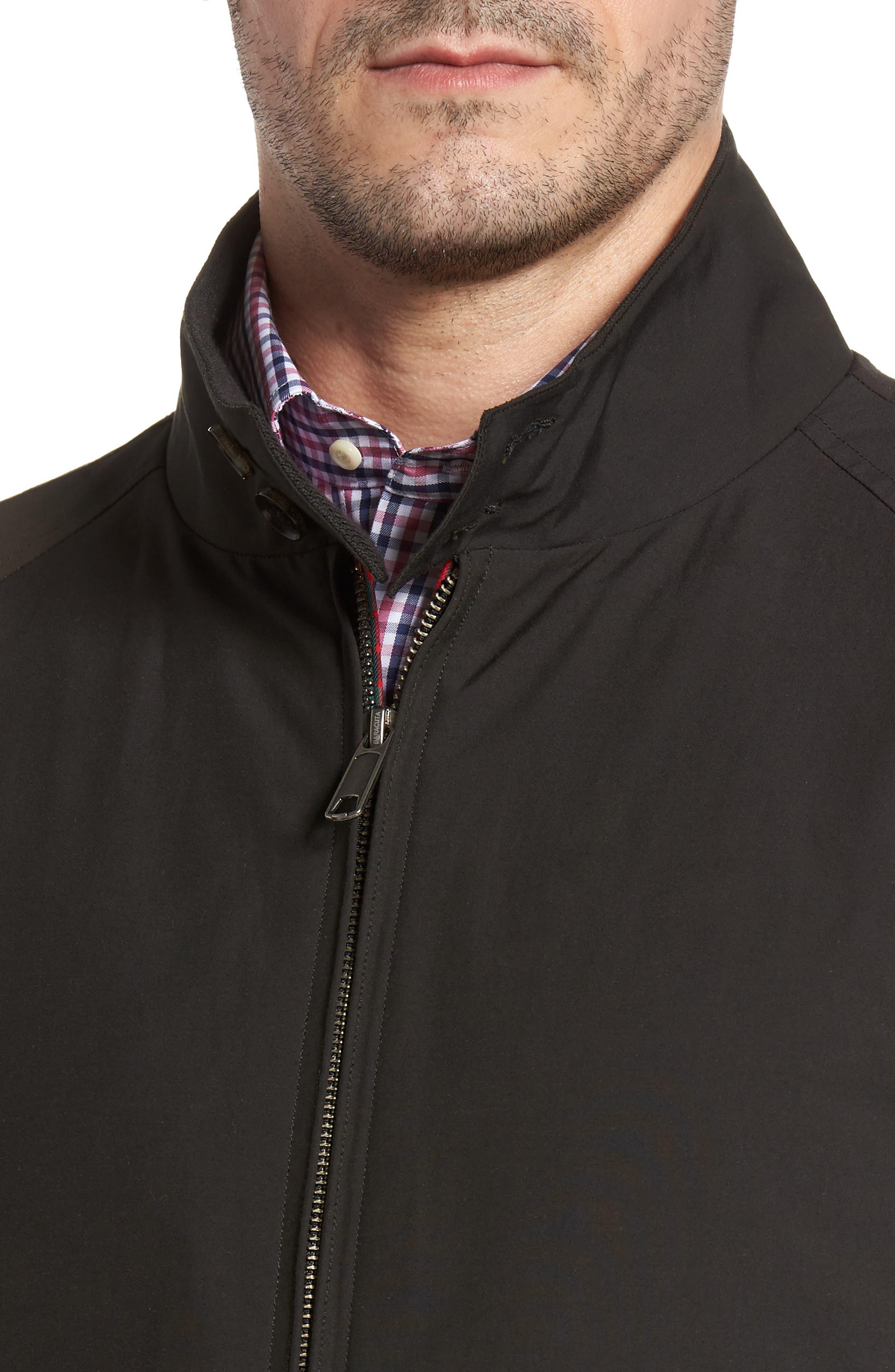 Alternate Image 4  - Baracuta G4 Water Repellent Harrington Jacket
