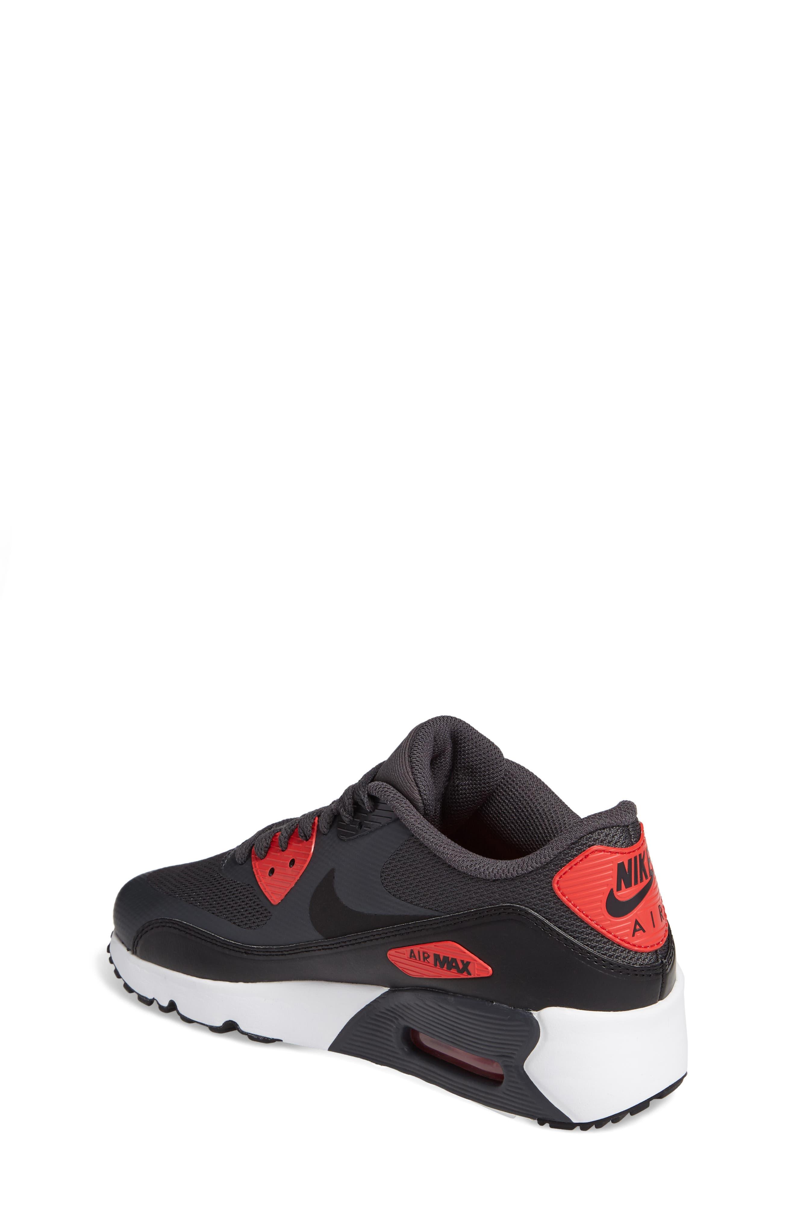 Alternate Image 2  - Nike Air Max 90 Ultra 2.0 Sneaker (Big Kid)