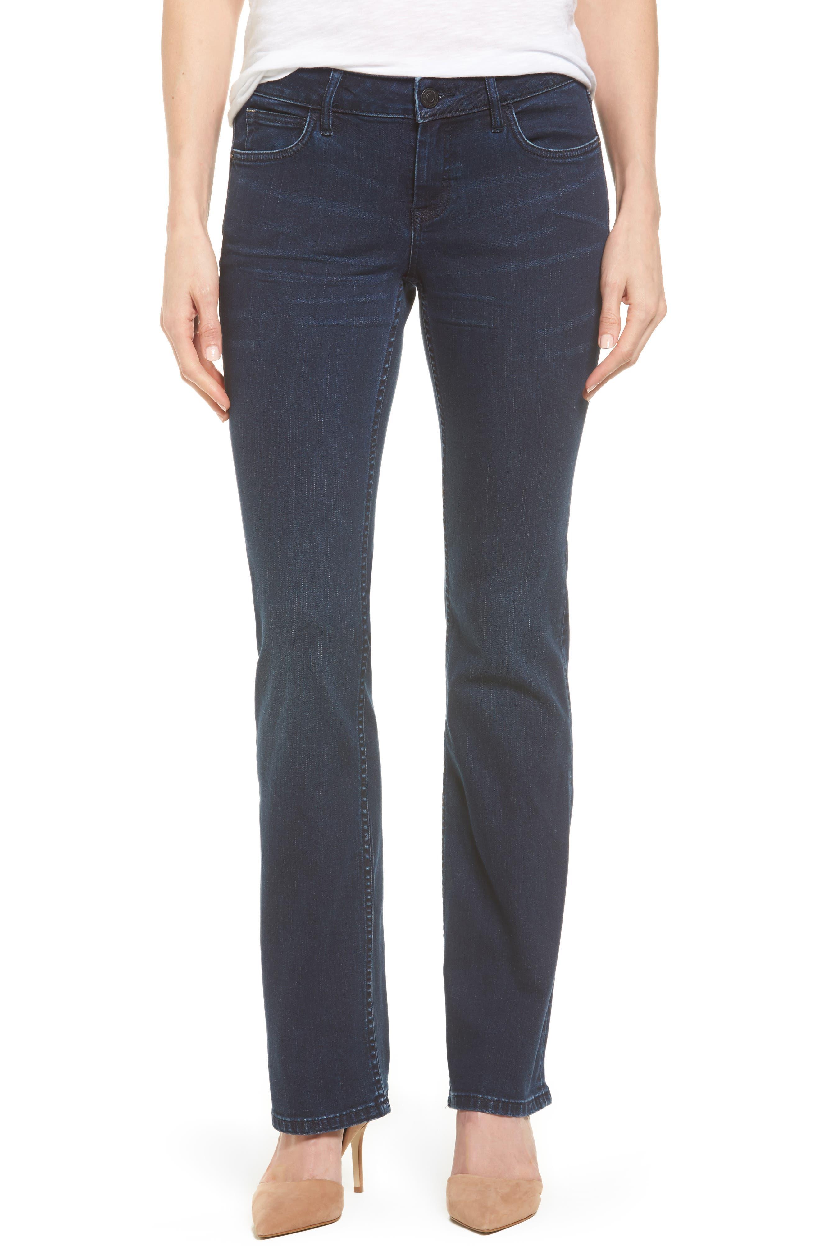 Main Image - Tommy Bahama Tema Modern Bootcut Jeans (Dark Horizon)