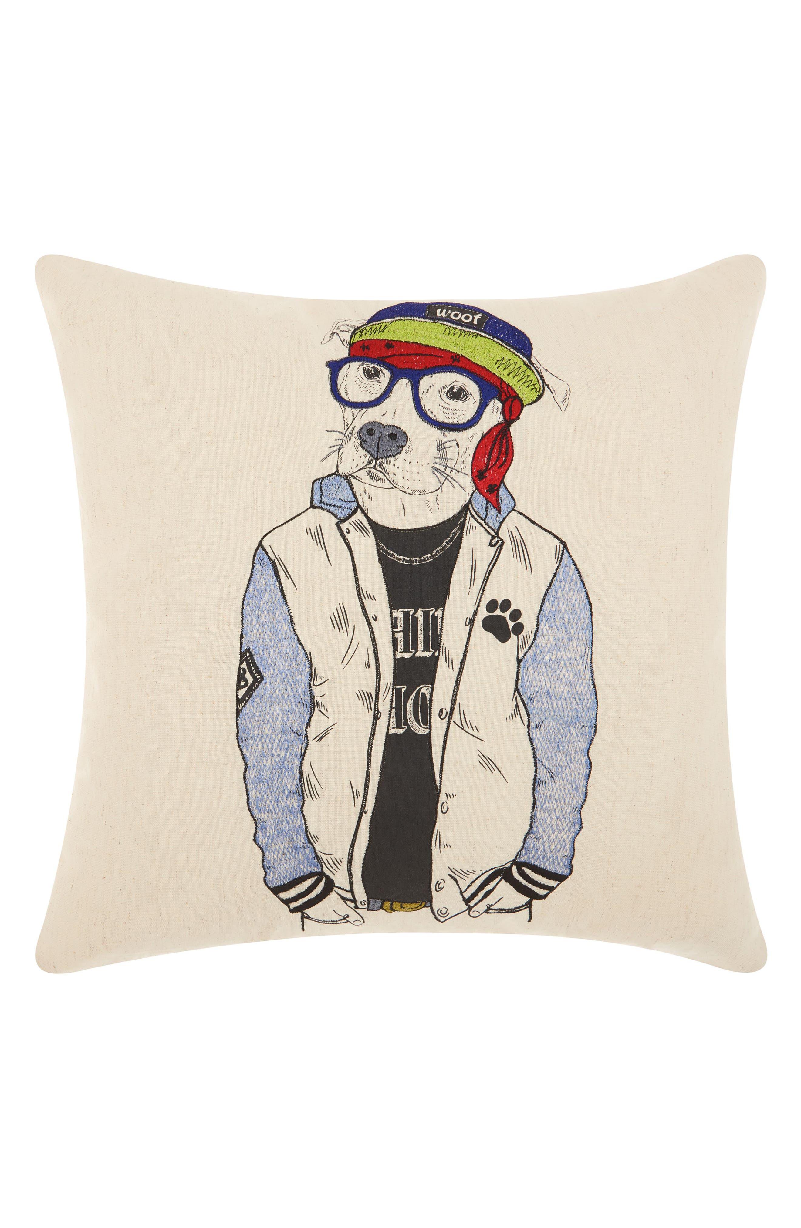 Main Image - Mina Victory Cool Pitbull Accent Pillow