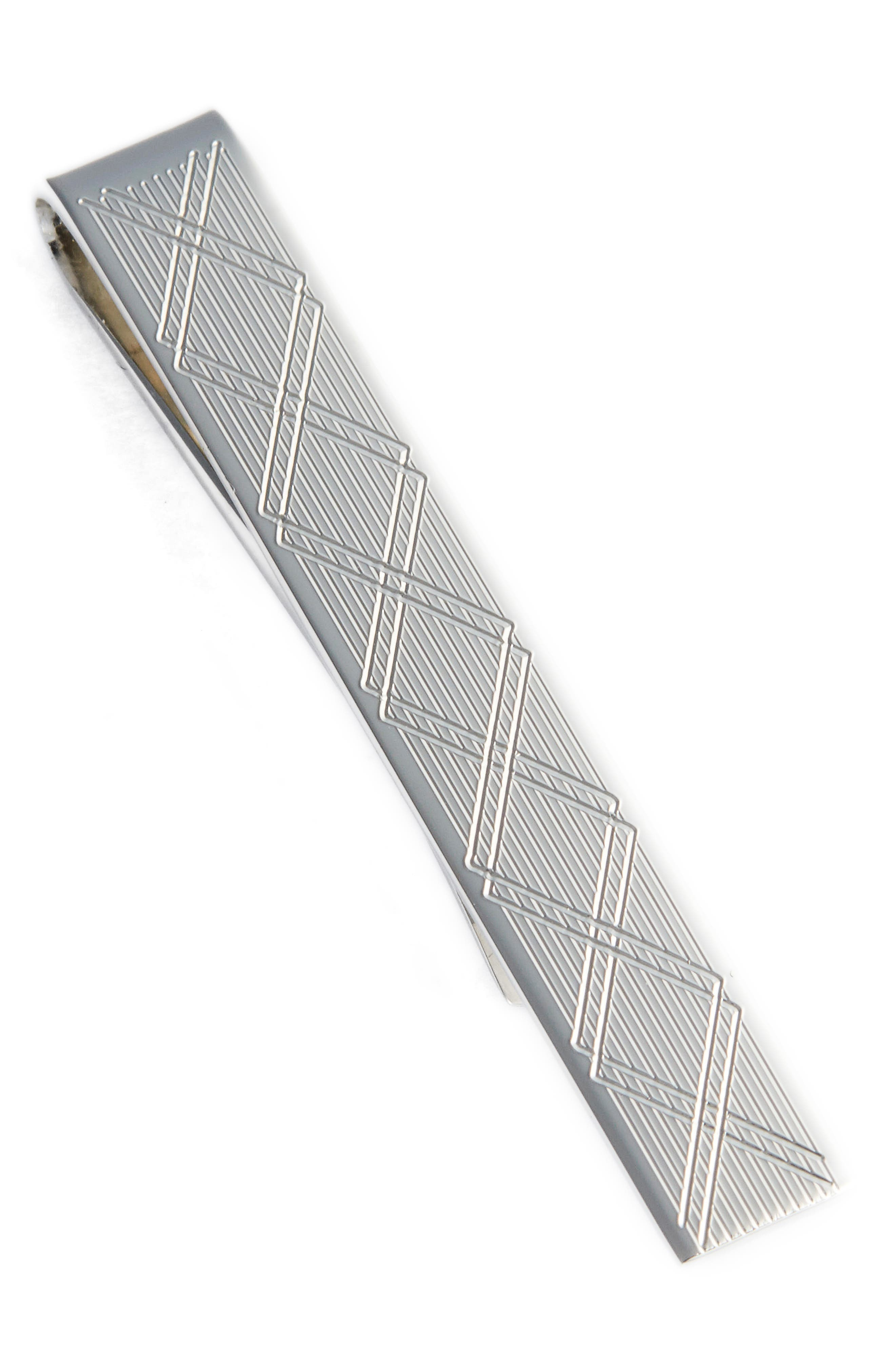 David Donahue Sterling Silver Tie Bar