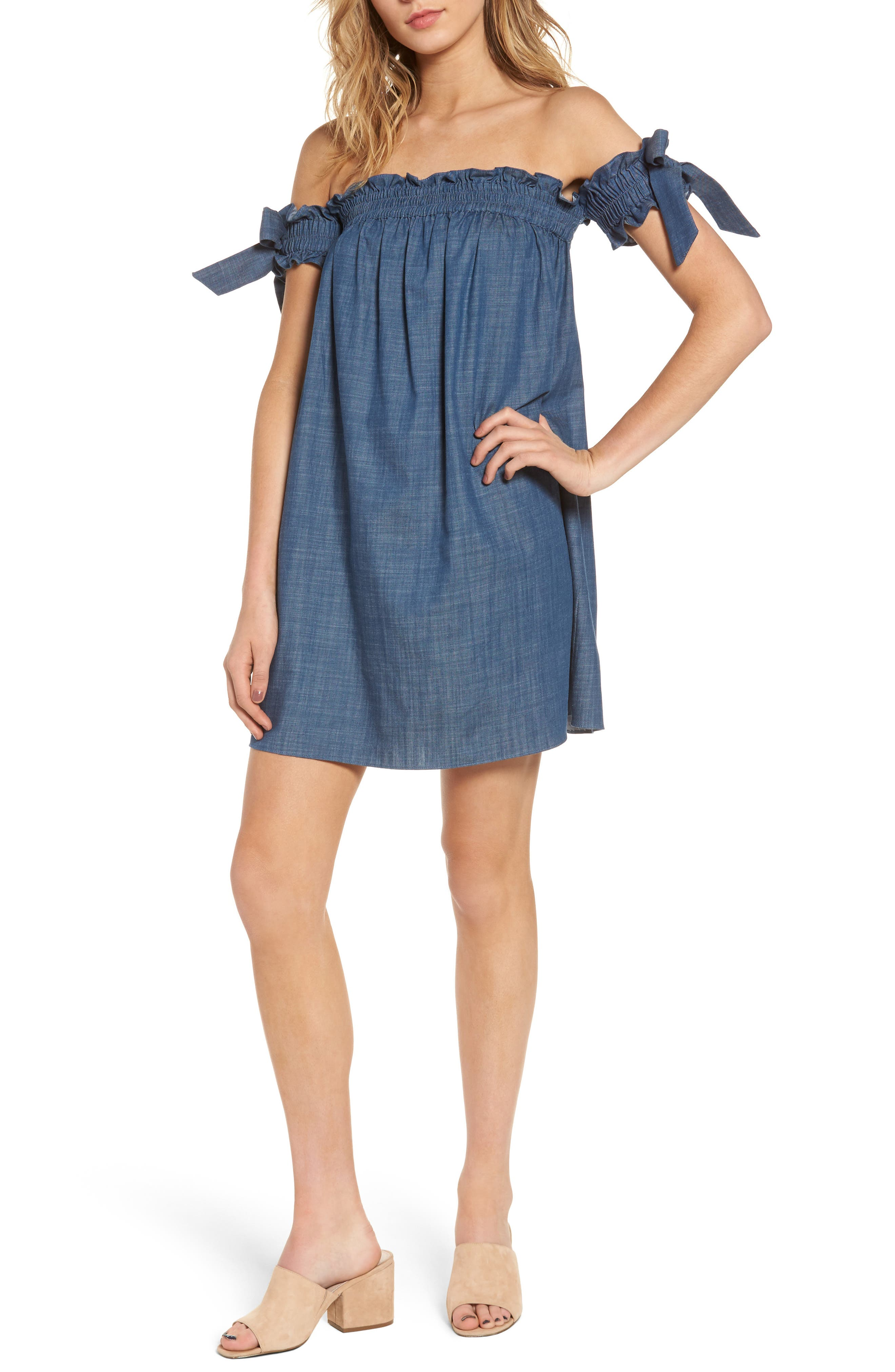 Main Image - MISA Los Angeles Violeta Shift Dress