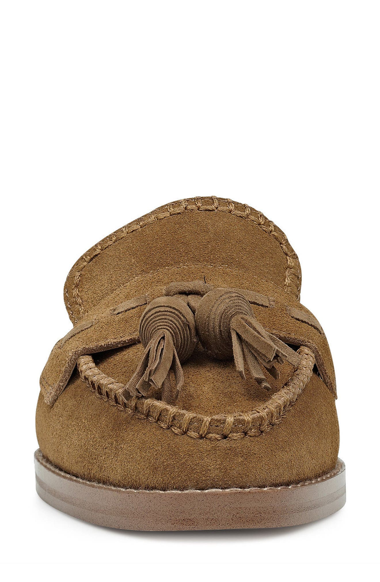 Alternate Image 4  - Nine West Vesuvio Tassel Loafer Mule (Women)