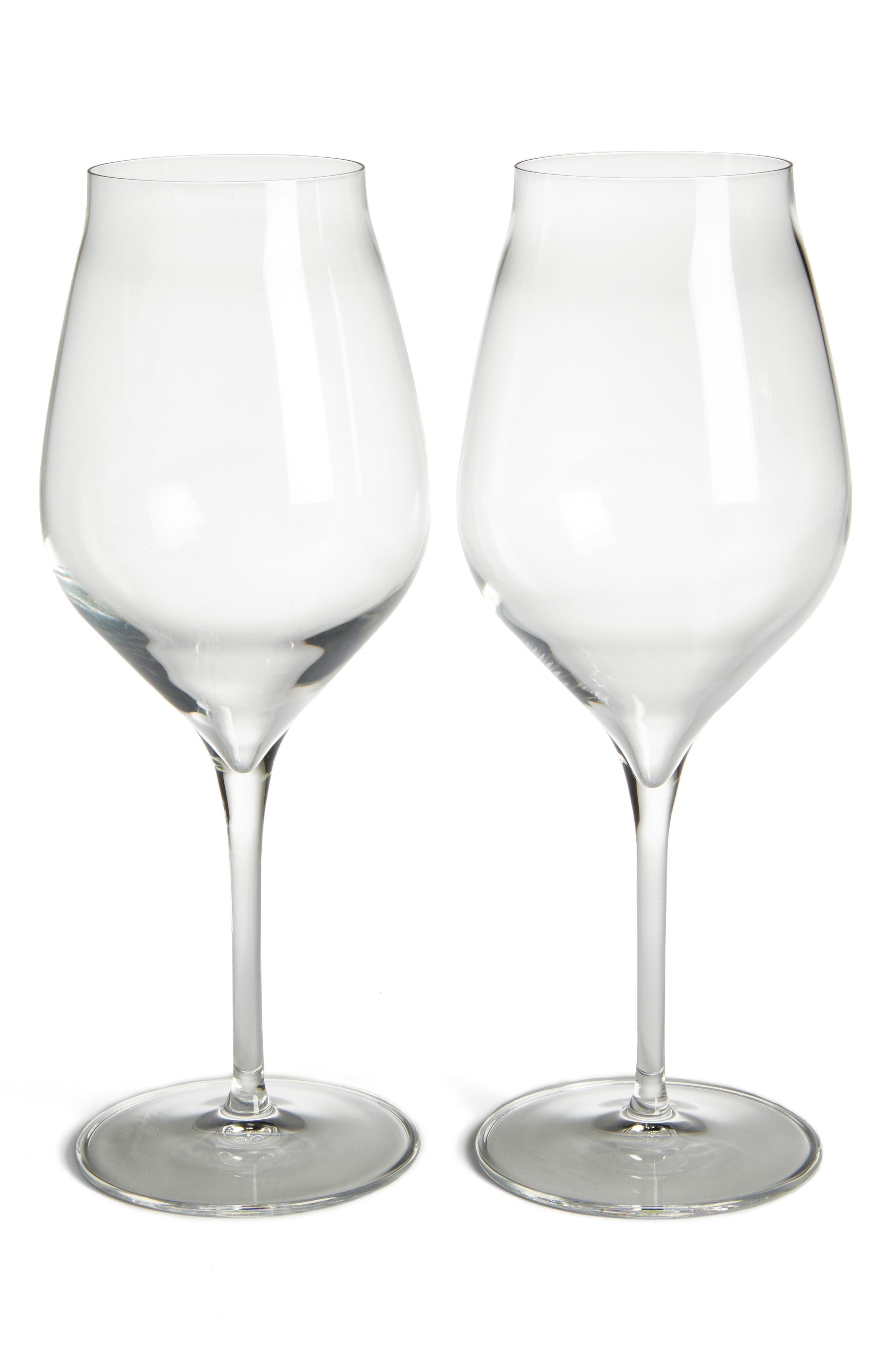 Luigi Bormiolo Vinea Cannonau Set of 2 Red Wine Glasses