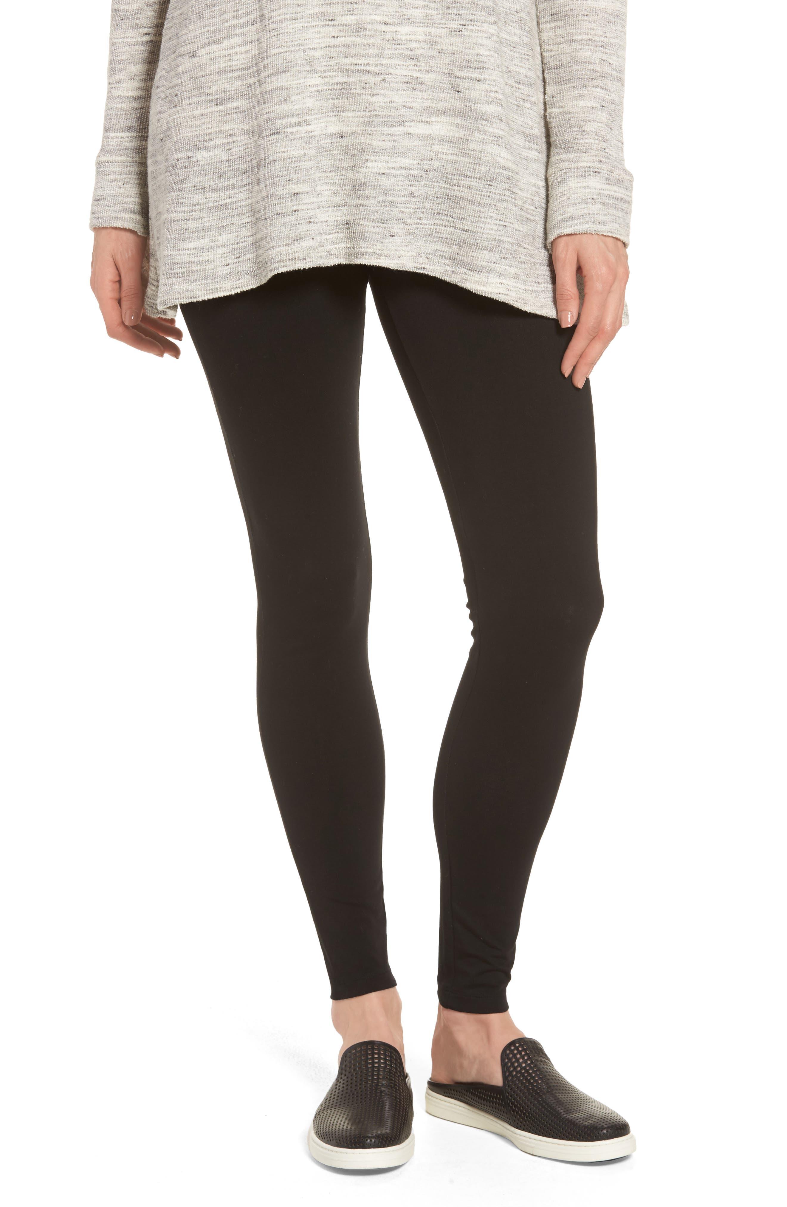 Caslon® High Waist Leggings (Regular & Petite)