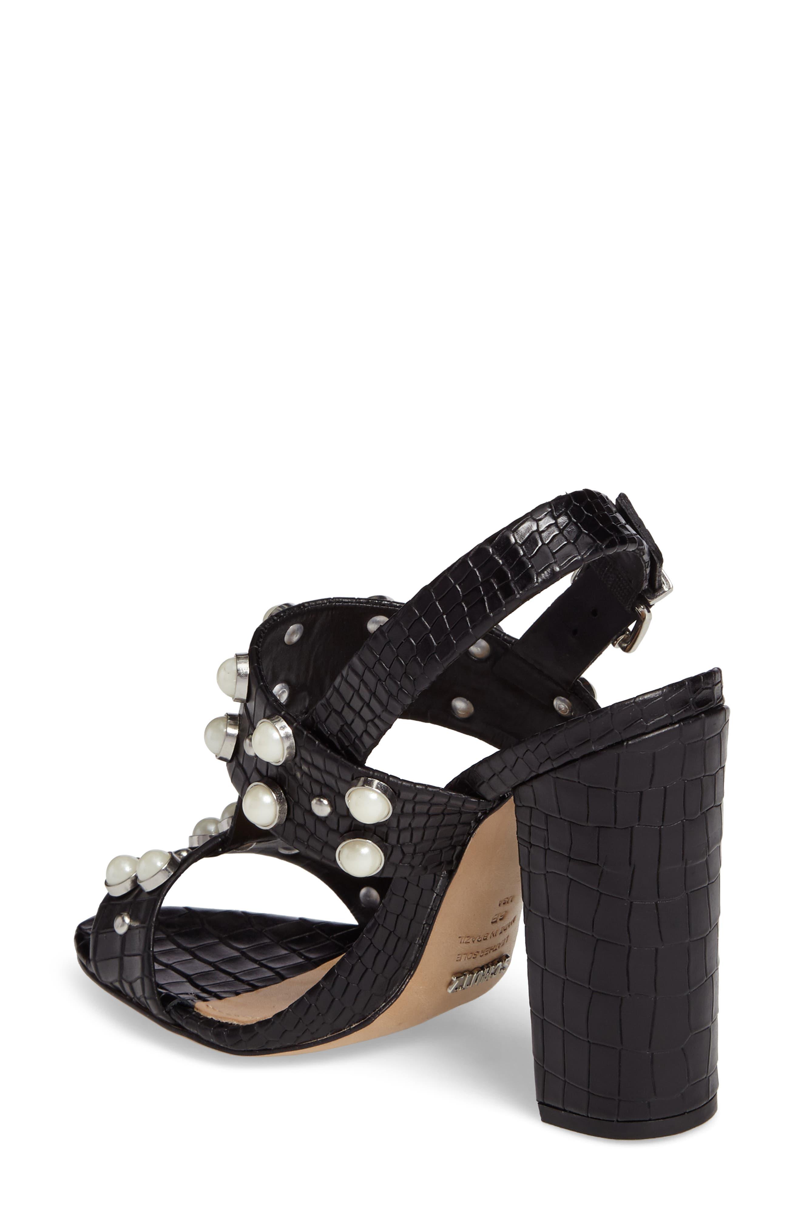 Alternate Image 2  - Schutz Zarita Imitation Pearl Embellished Sandal (Women)