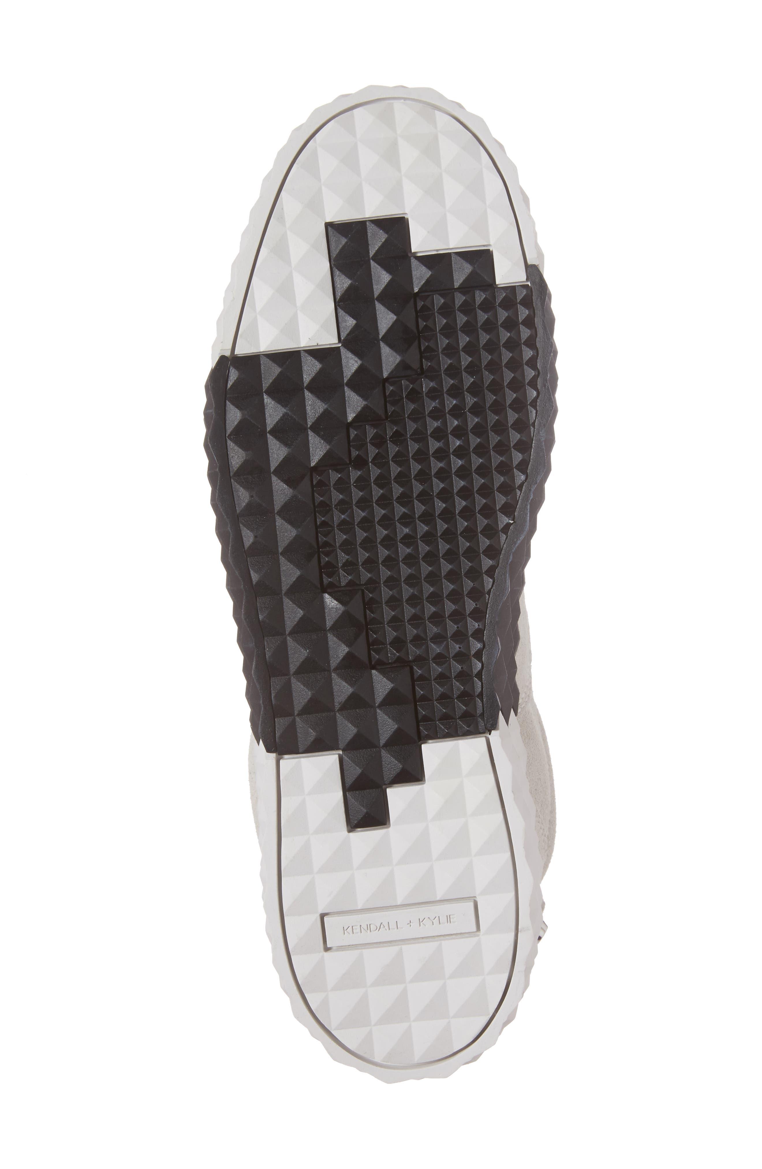 Reign Platform Sneaker,                             Alternate thumbnail 6, color,                             White