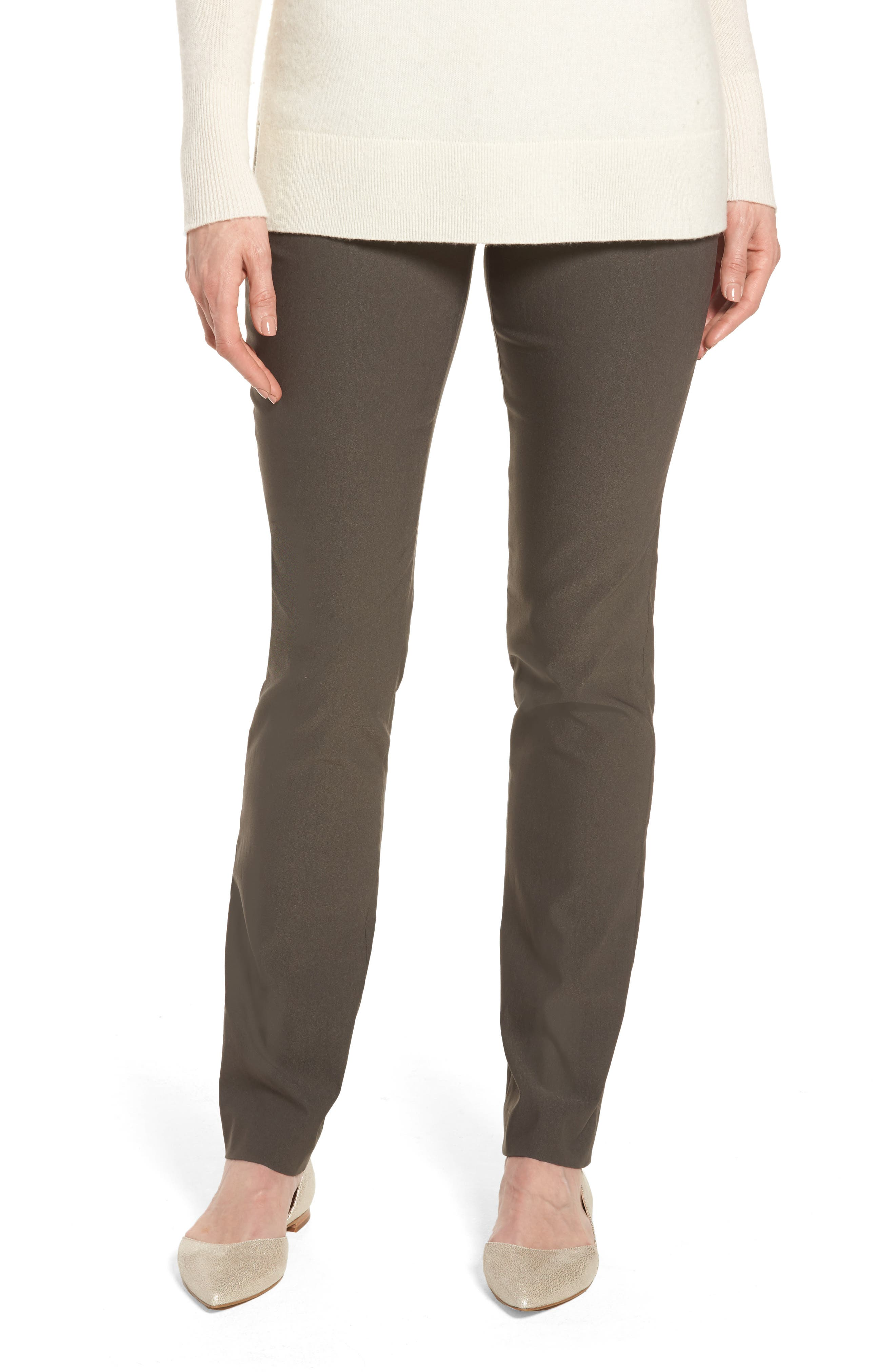 NIC+ZOE 'The Wonder Stretch' Straight Leg Pants (Regular & Petite)