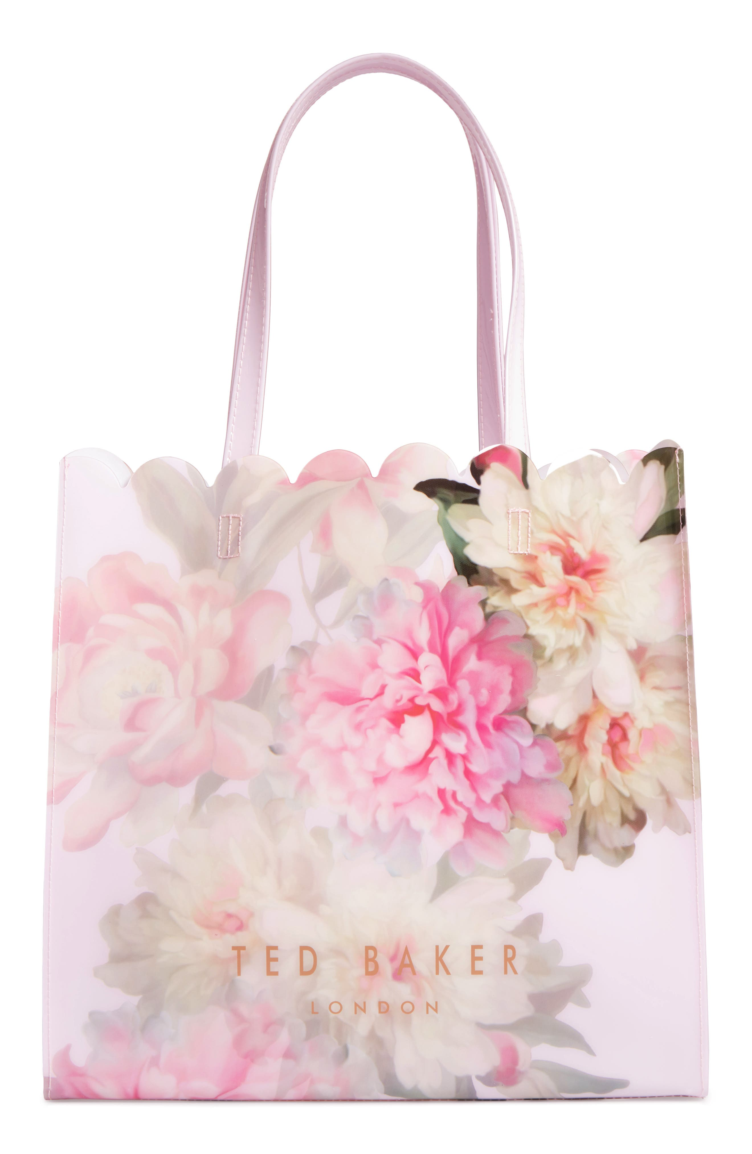 Alternate Image 2  - Ted Baker London Painted Posie Large Icon Bag