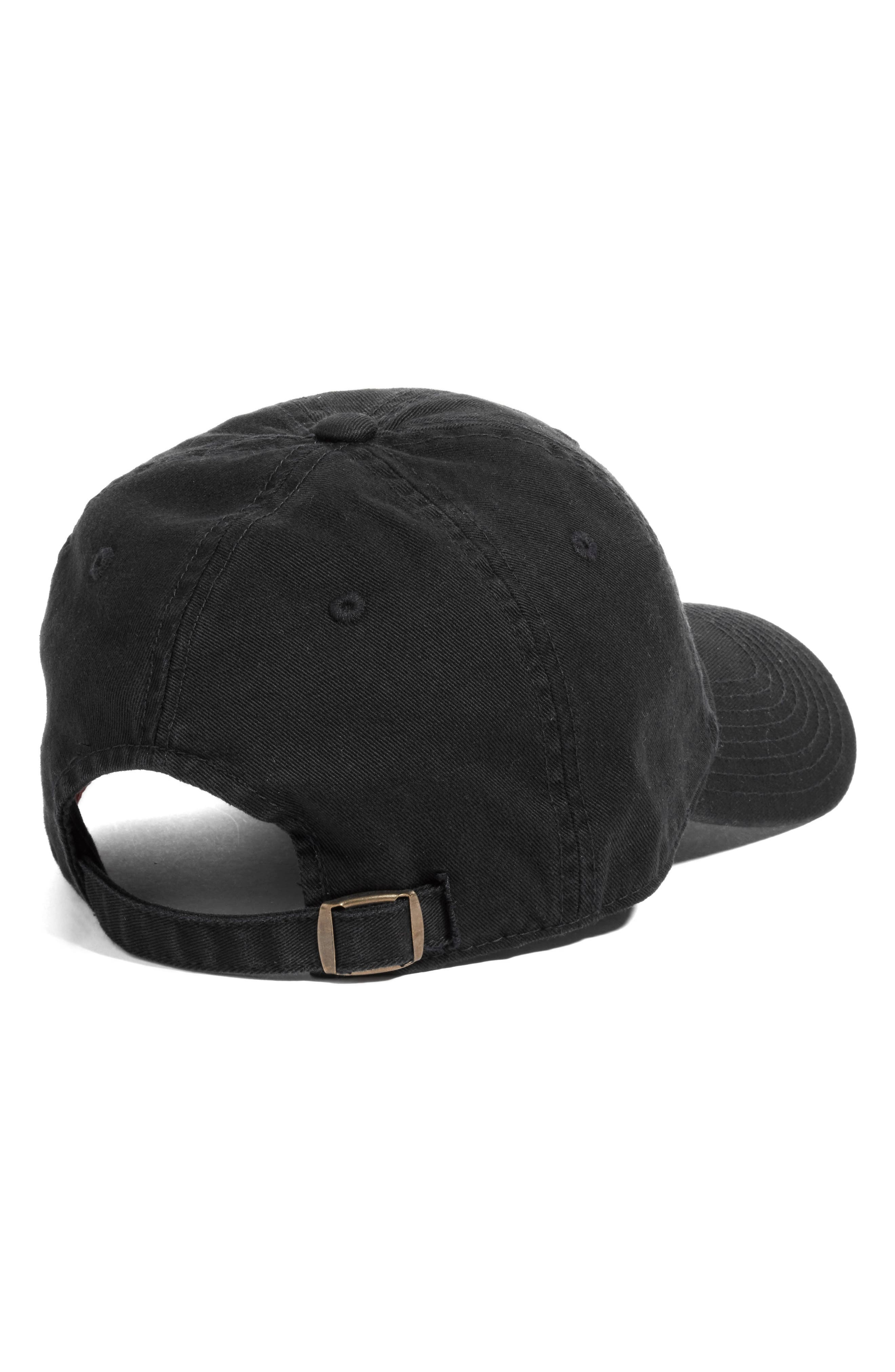 Ballpark - New York Yankees Baseball Cap,                             Alternate thumbnail 2, color,                             Black