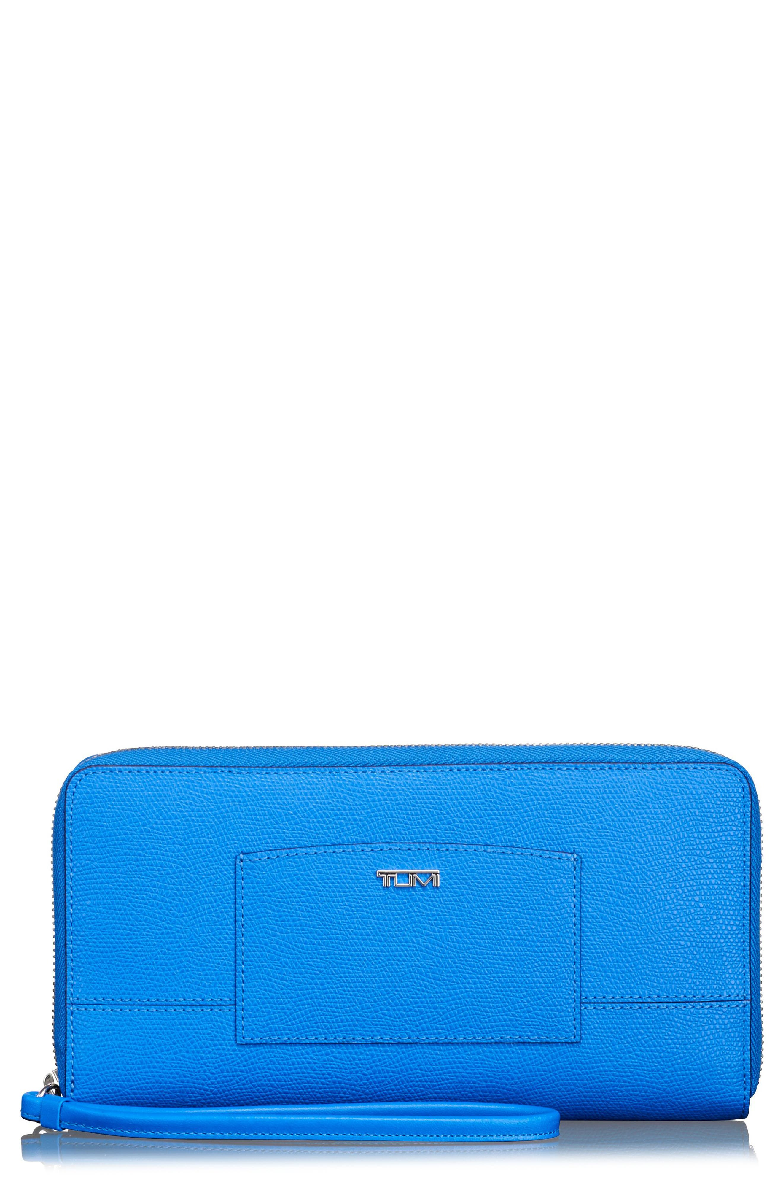 Travel Wallet,                         Main,                         color, Electric Blue