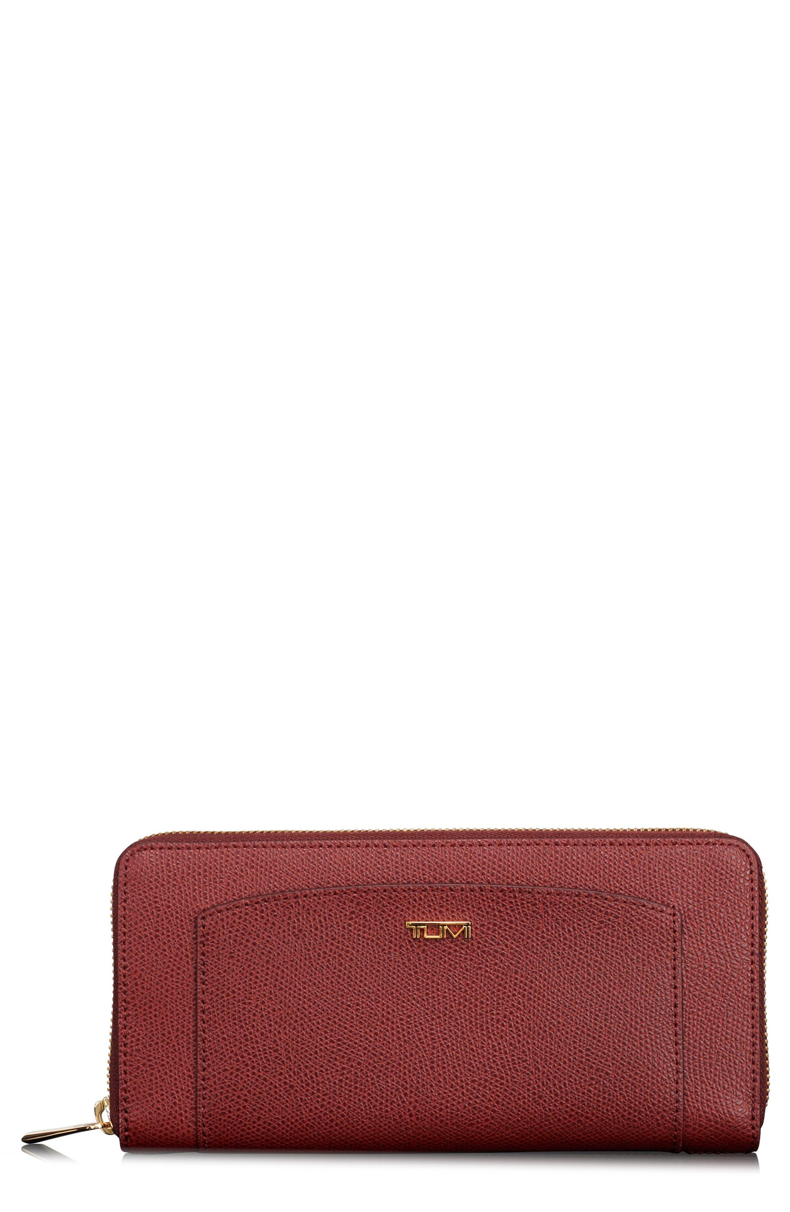 Continental Tech Wallet,                         Main,                         color, Burgundy