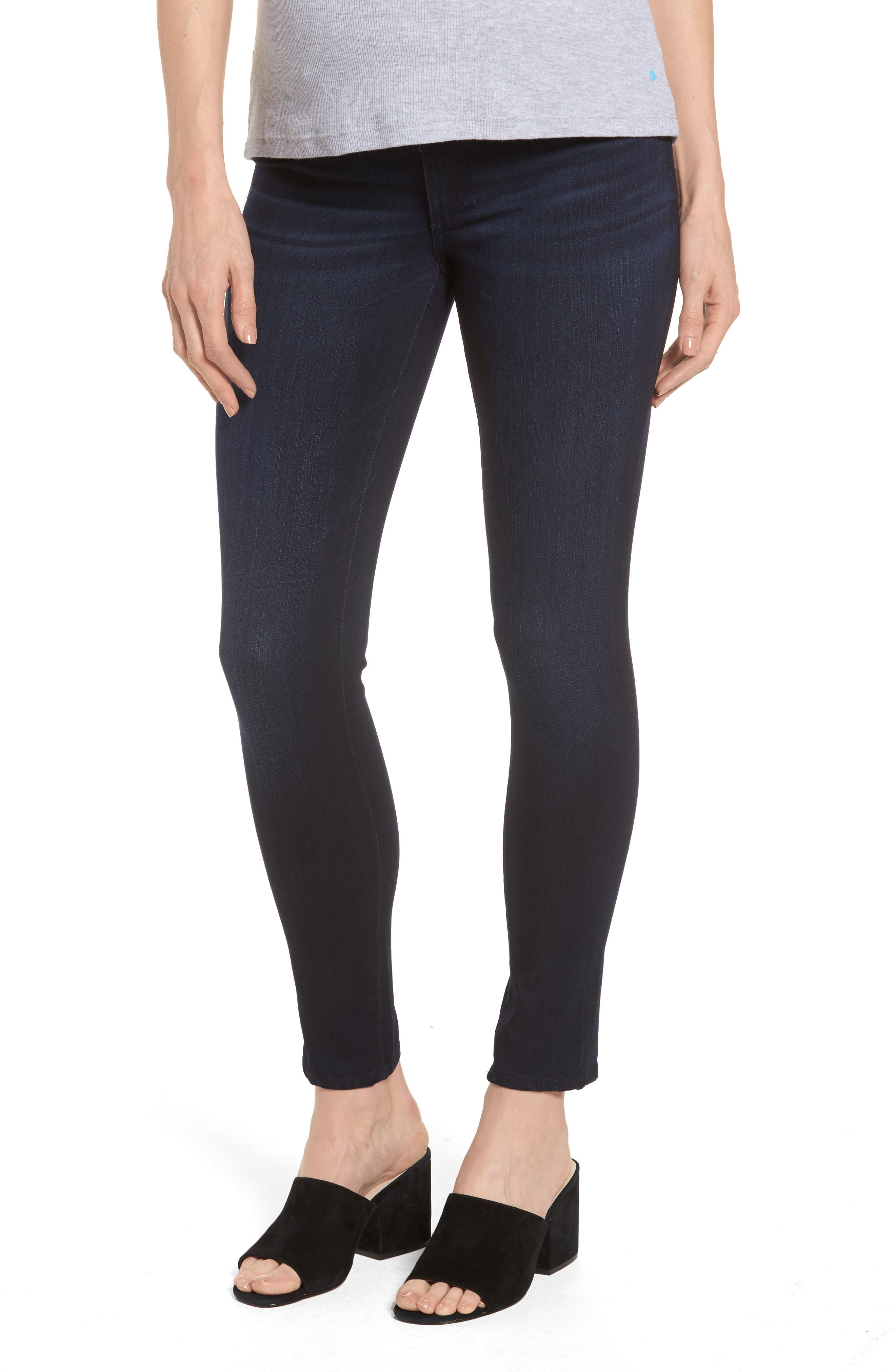 Emma Power Legging Maternity Jeans,                         Main,                         color, Token