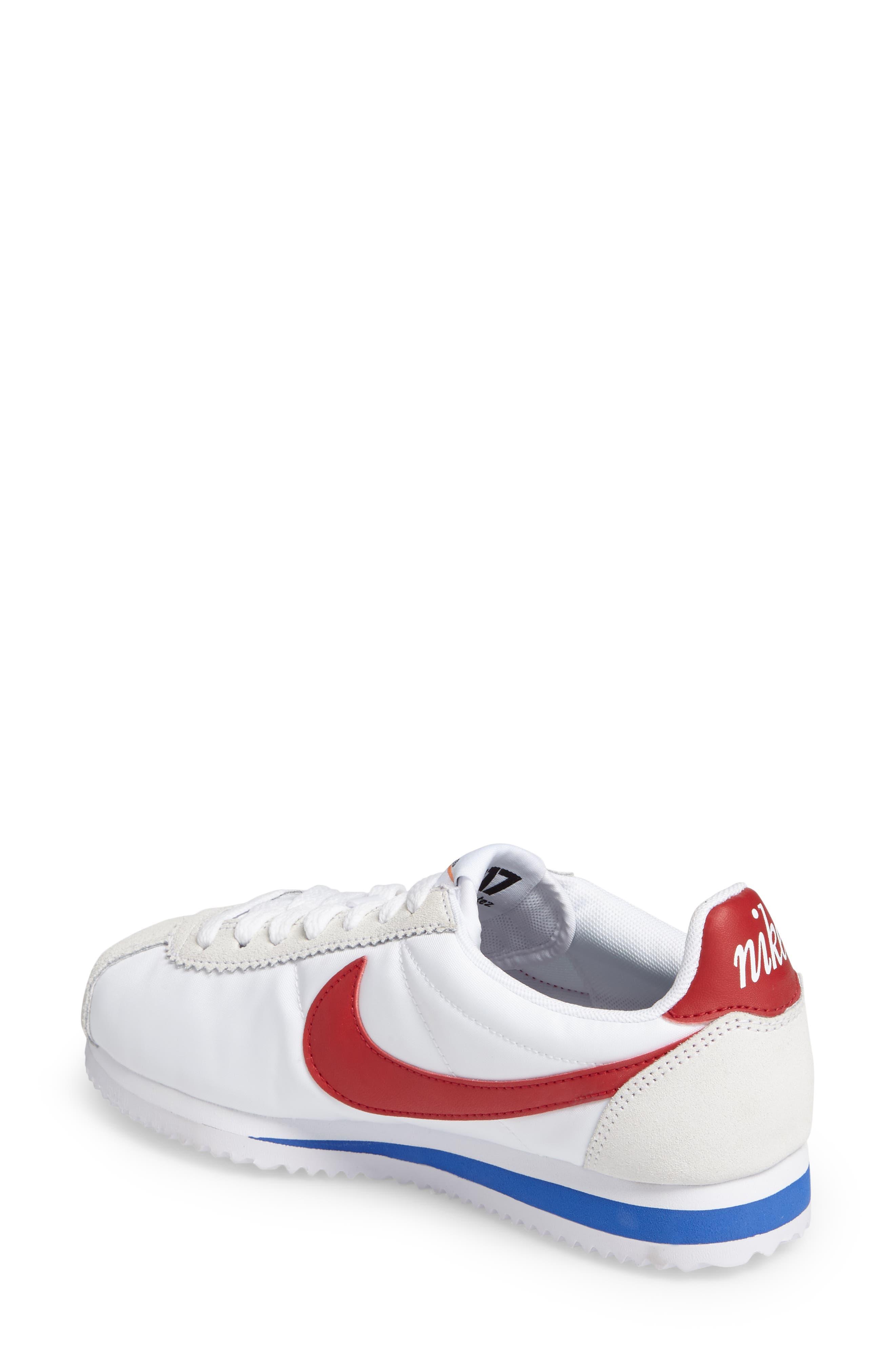 Alternate Image 2  - Nike Classic Cortez Premium Sneaker (Women)