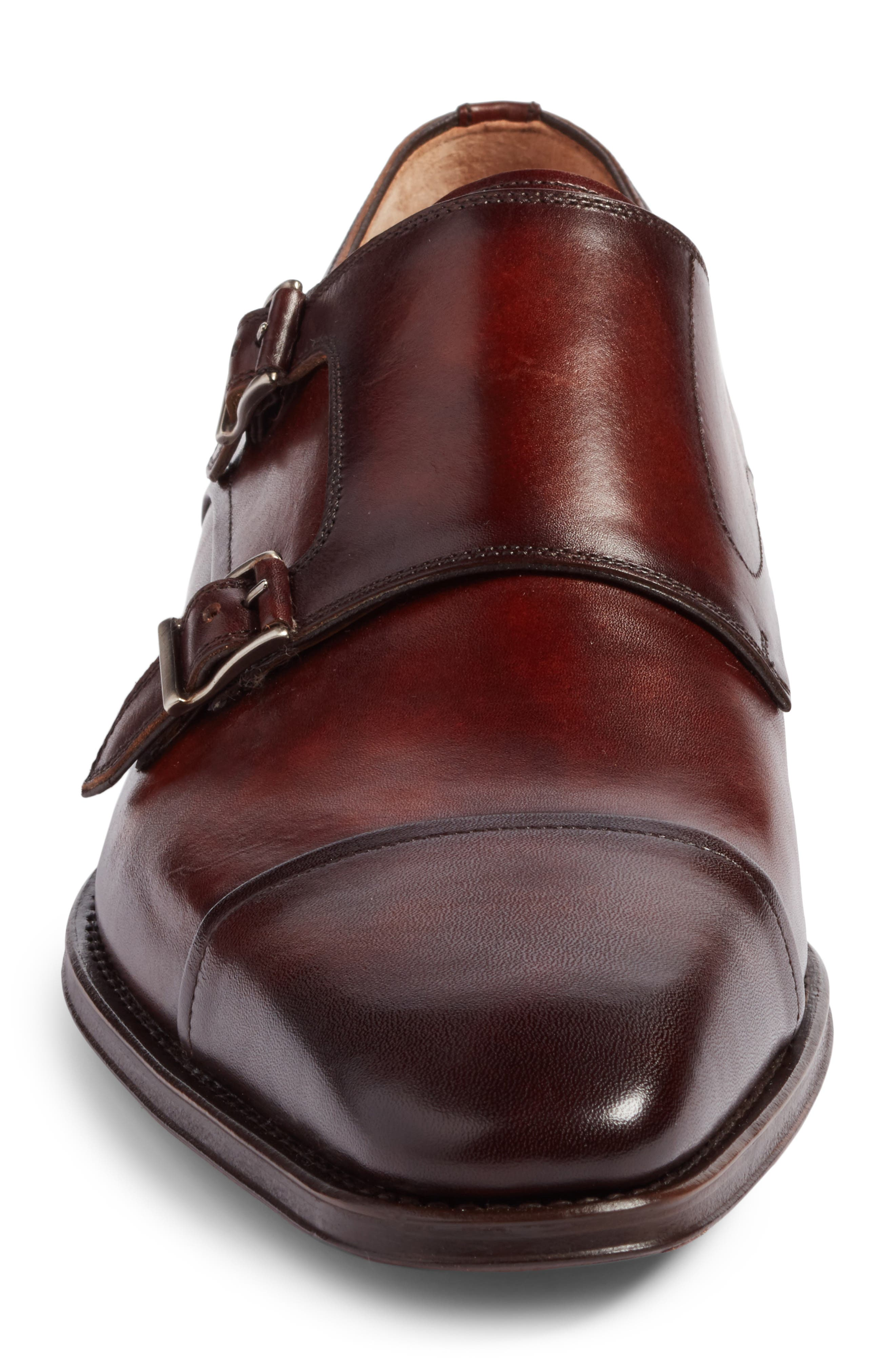 Alternate Image 4  - Magnanni Silvio Double Monk Strap Shoe (Men)