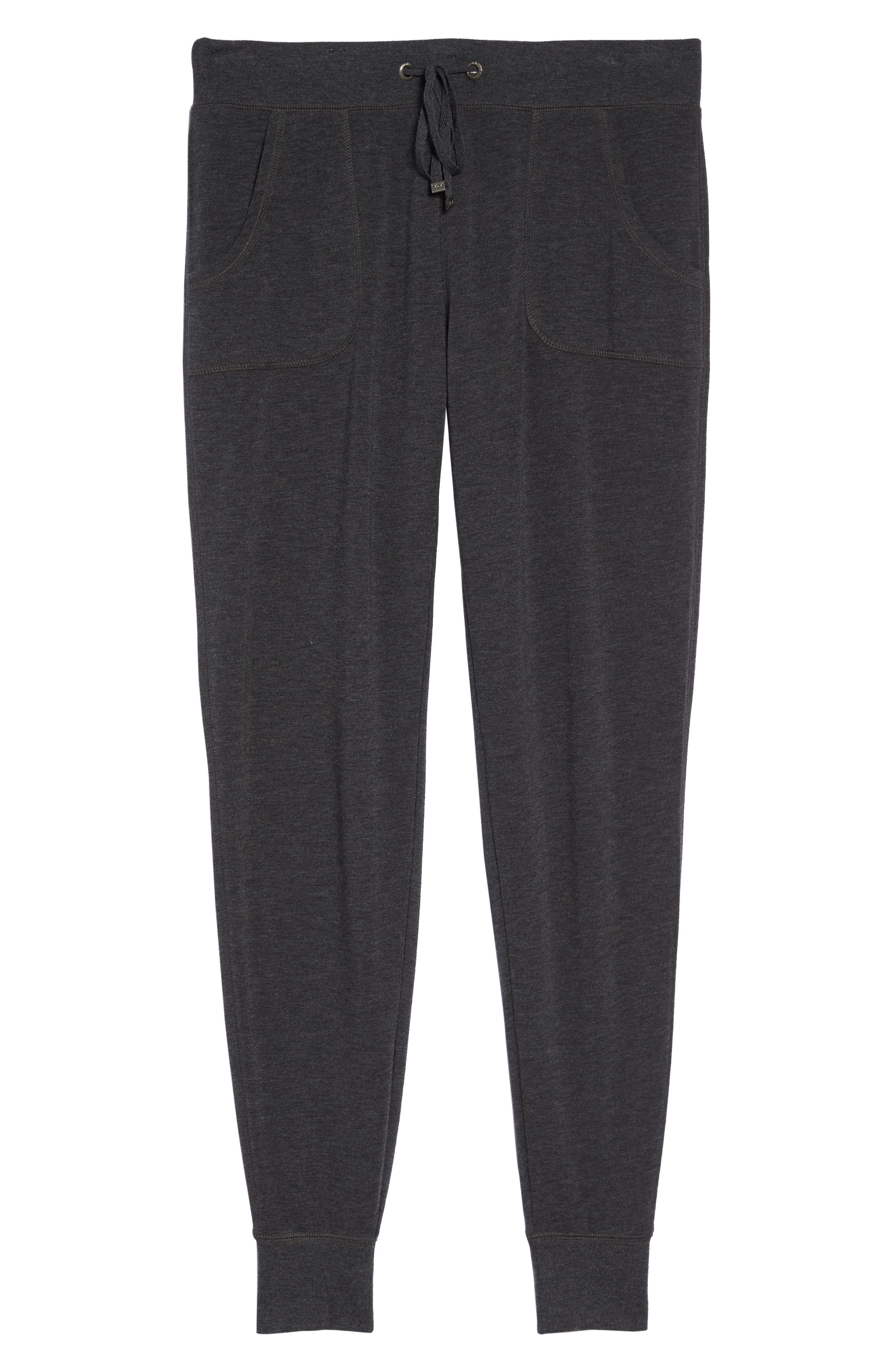 All About It Lounge Pants,                             Alternate thumbnail 7, color,                             Grey Wolf Heather