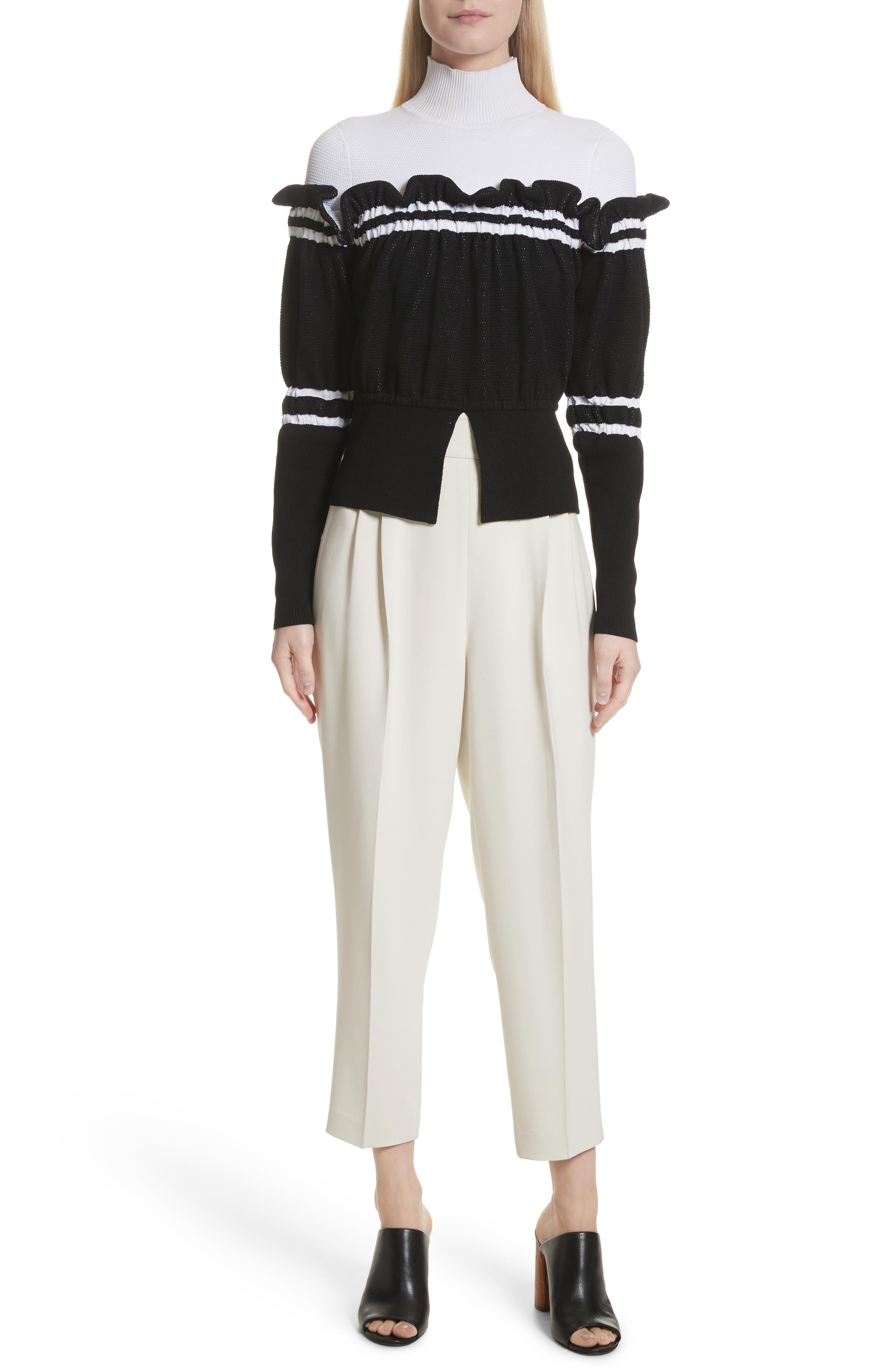Alternate Image 7  - 3.1 Phillip Lim Side Button Crop Pants