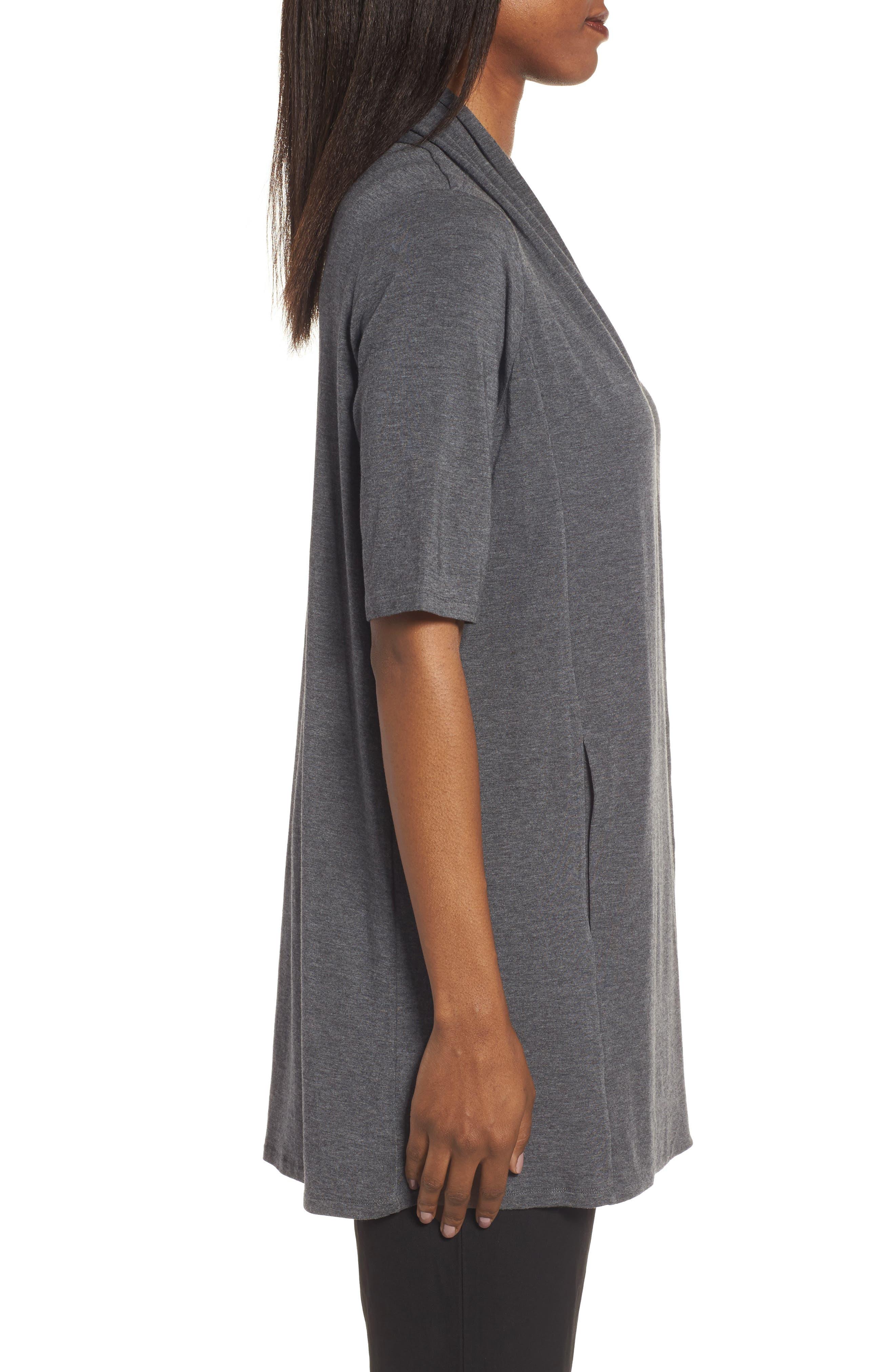 Alternate Image 3  - Eileen Fisher Tencel® Kimono Cardigan