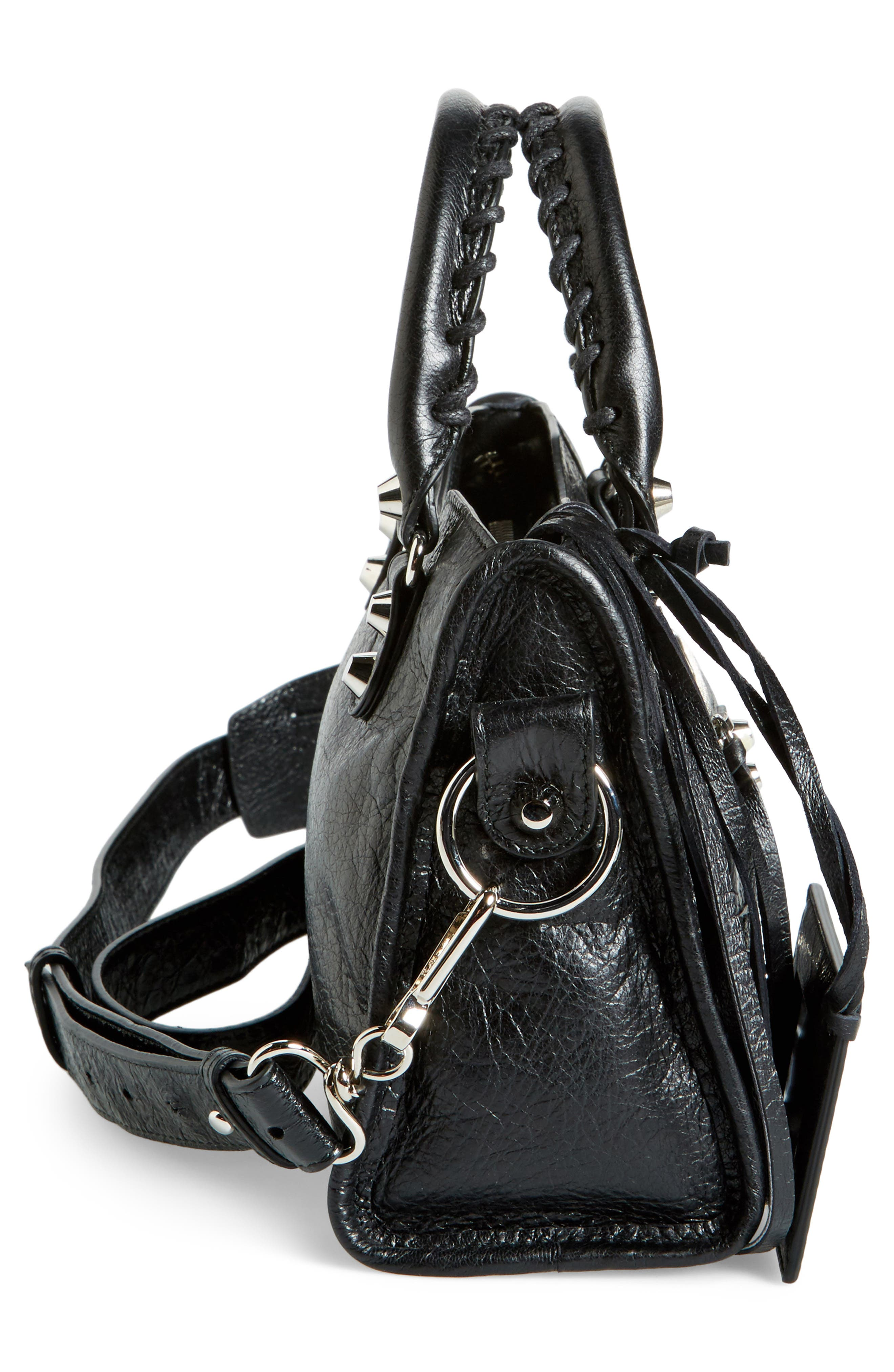 Alternate Image 5  - Balenciaga Classic Mini City Leather Tote