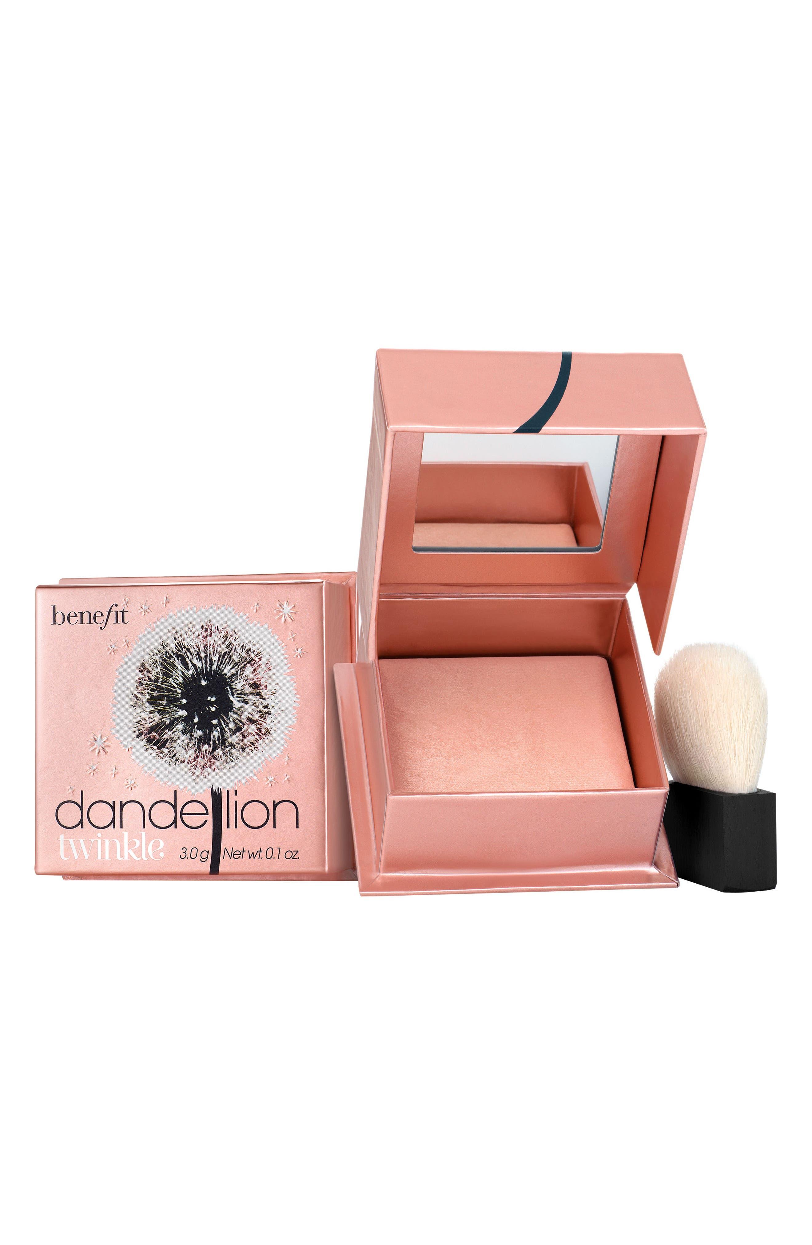 Benefit Dandelion Twinkle Powder Highlighter,                         Main,                         color, Nude Pink