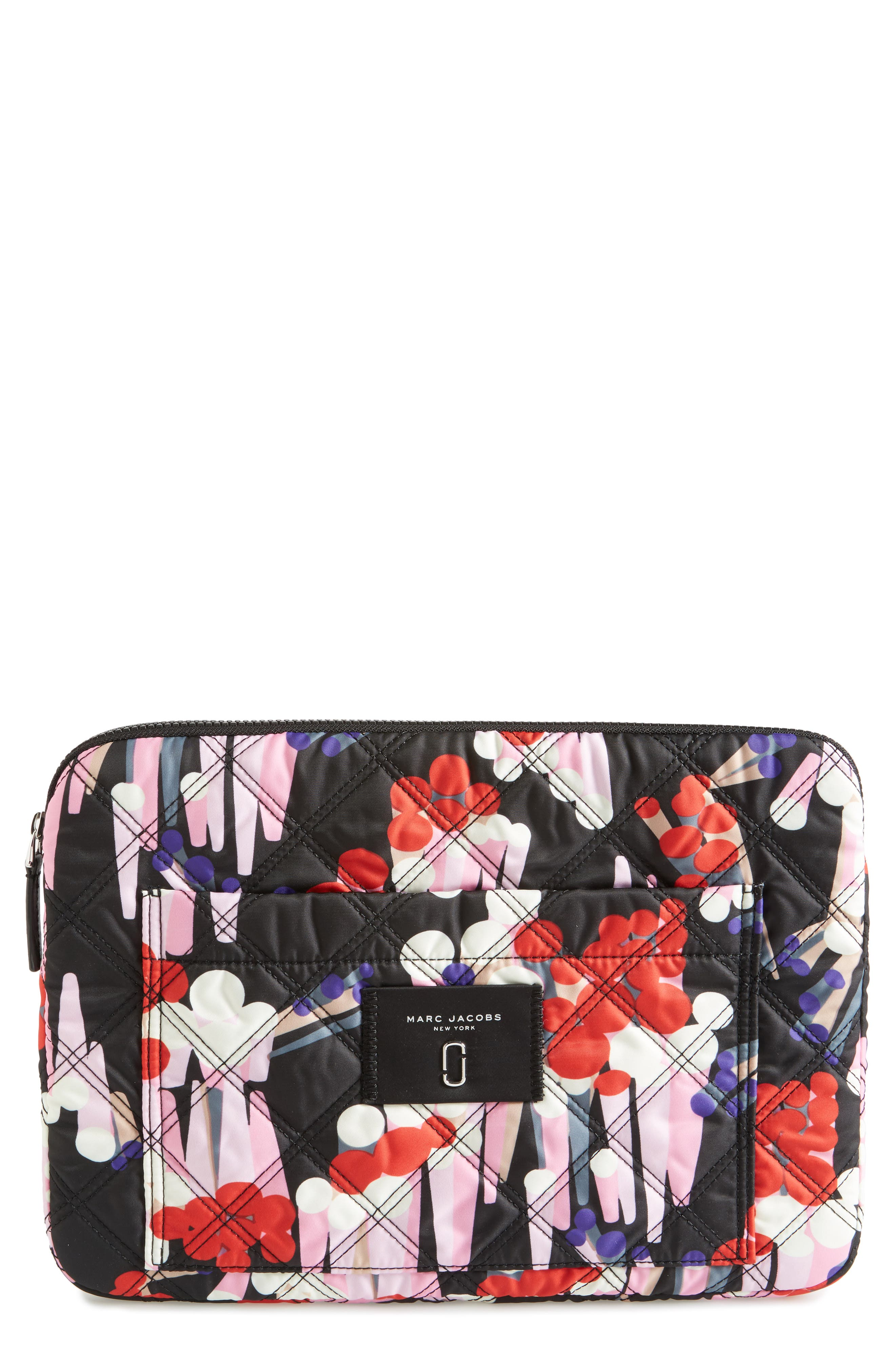 MARC JACOBS Knot Crystal 13-Inch Laptop Sleeve