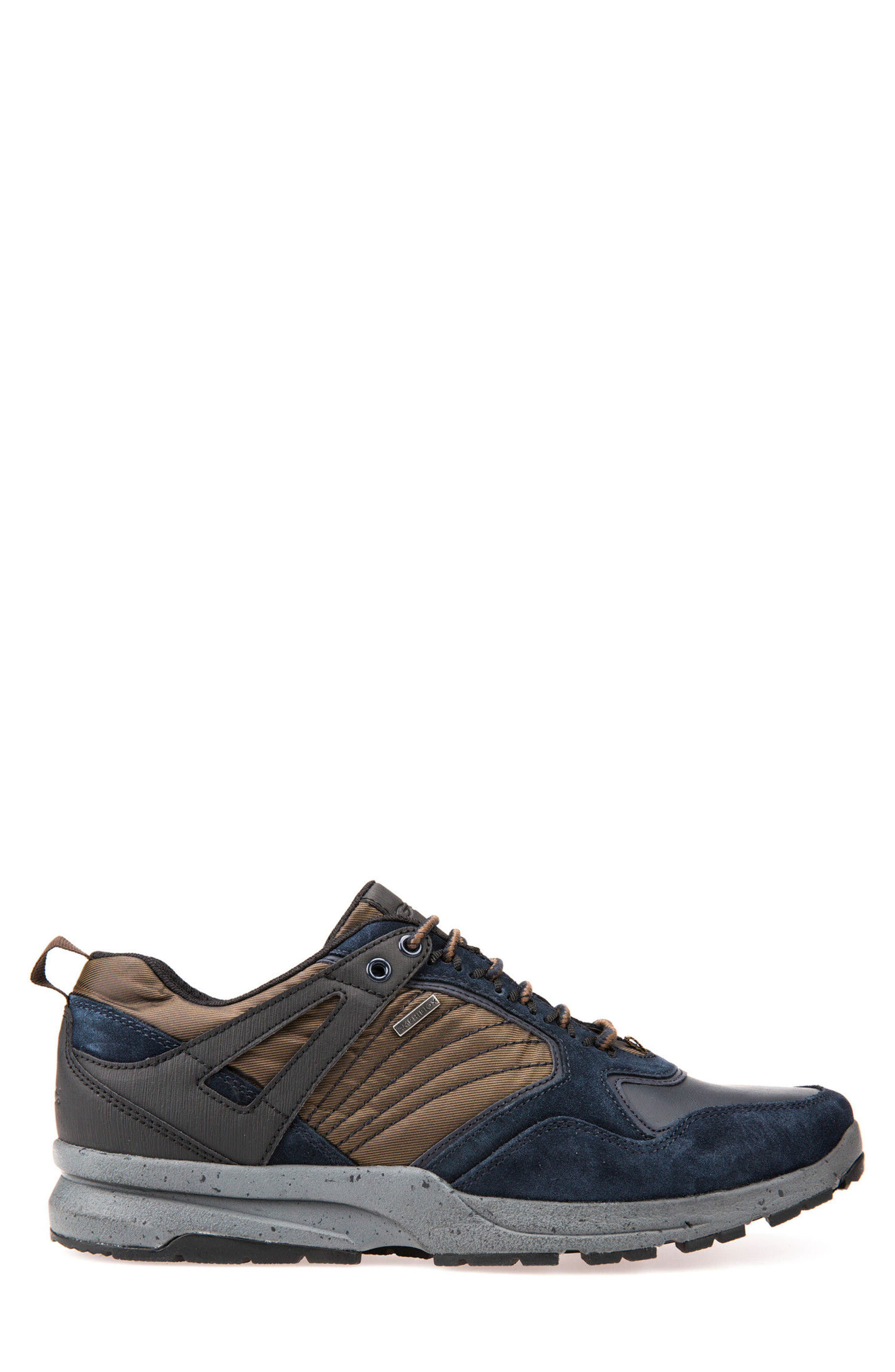 Gegy ABX Waterproof Sneaker,                             Alternate thumbnail 3, color,                             Navy/ Musk