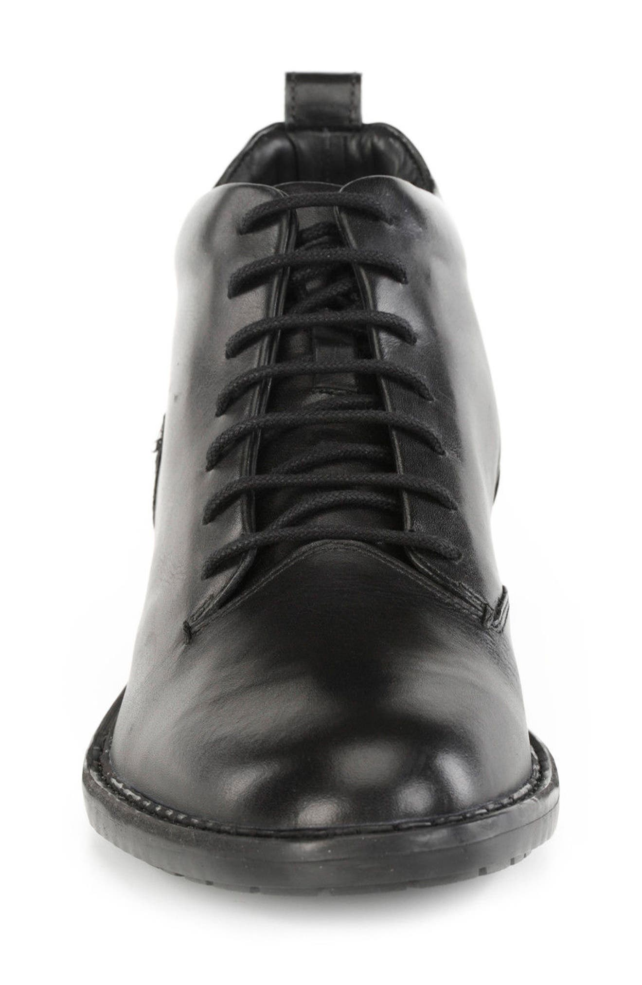Kapsian Plain Toe Boot,                             Alternate thumbnail 4, color,                             Black