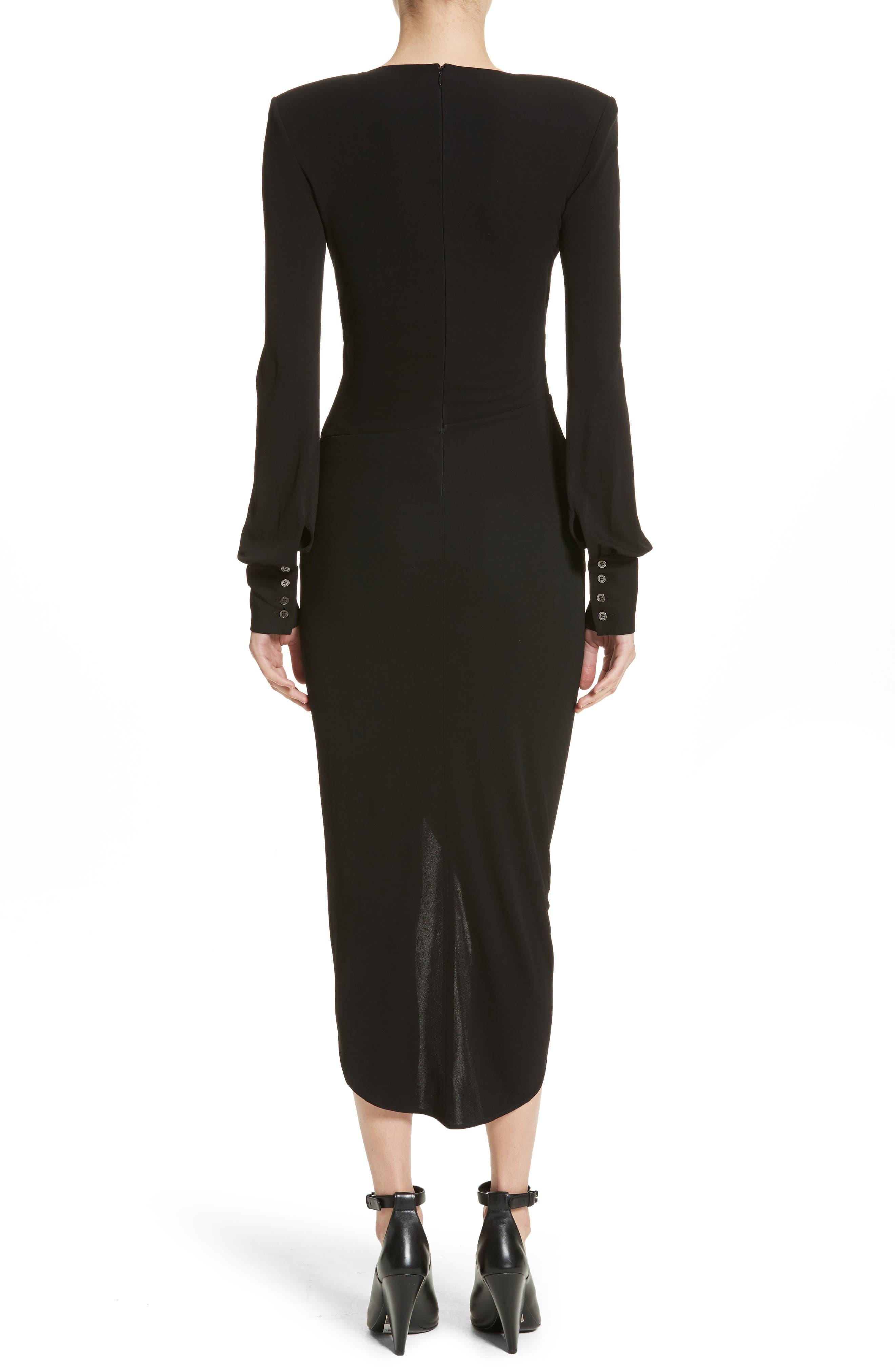 Alternate Image 2  - Michael Kors Stretch Jersey Wrap Dress