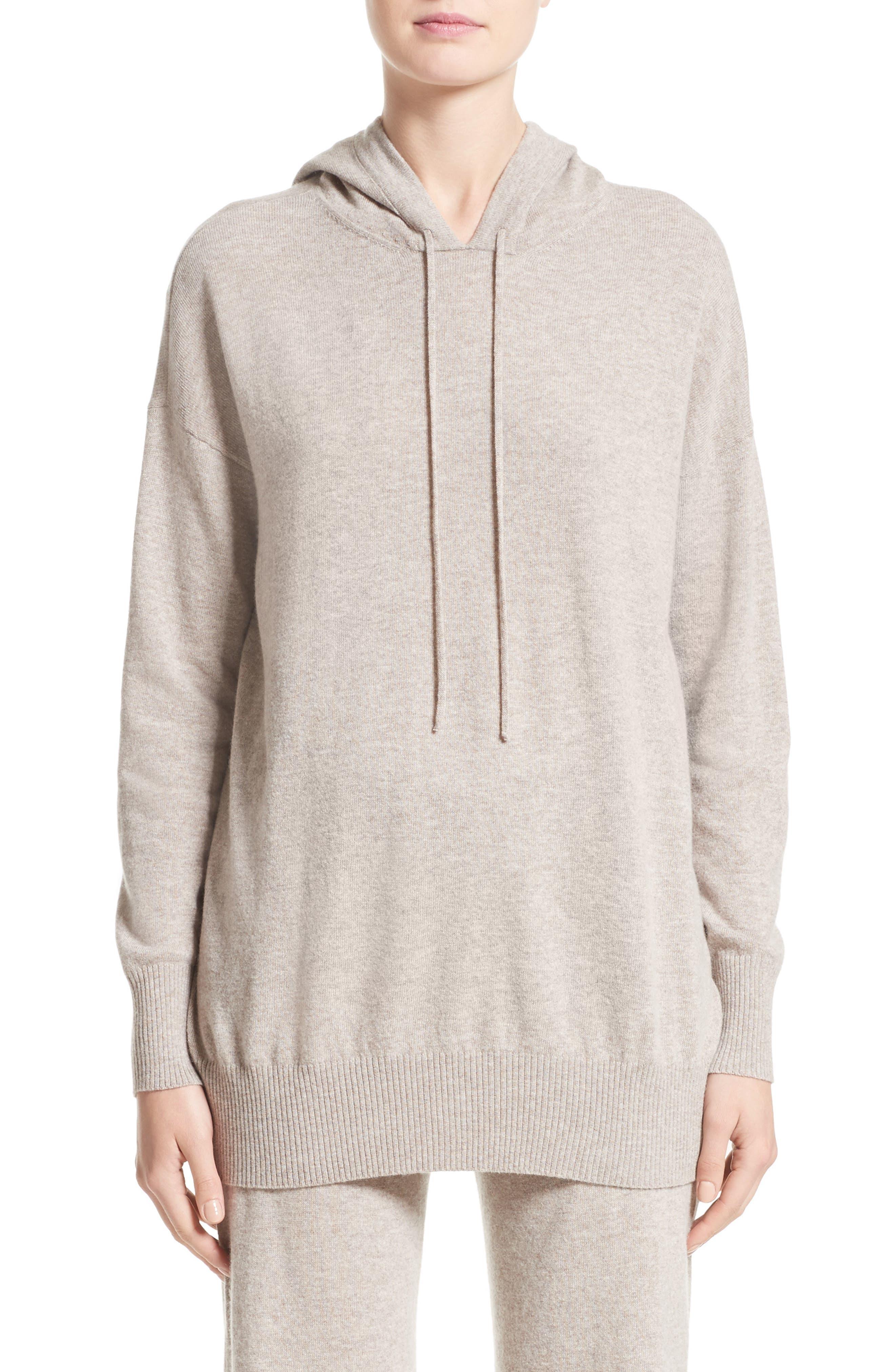 Main Image - Max Mara Nitra Wool & Cashmere Hooded Sweater