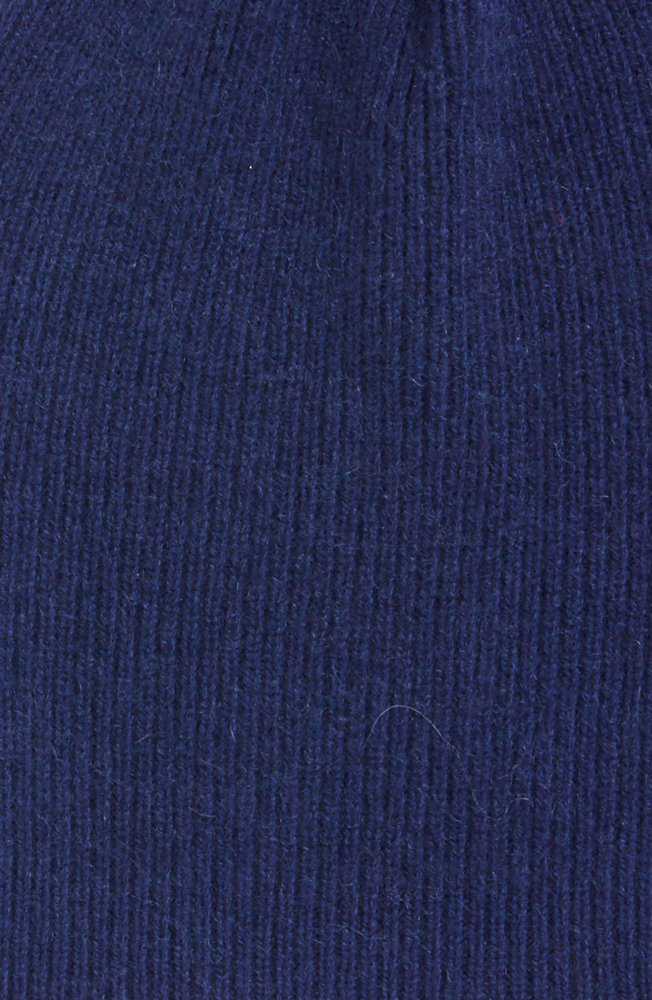 Alternate Image 2  - Halogen® Slouchy Cashmere Beanie