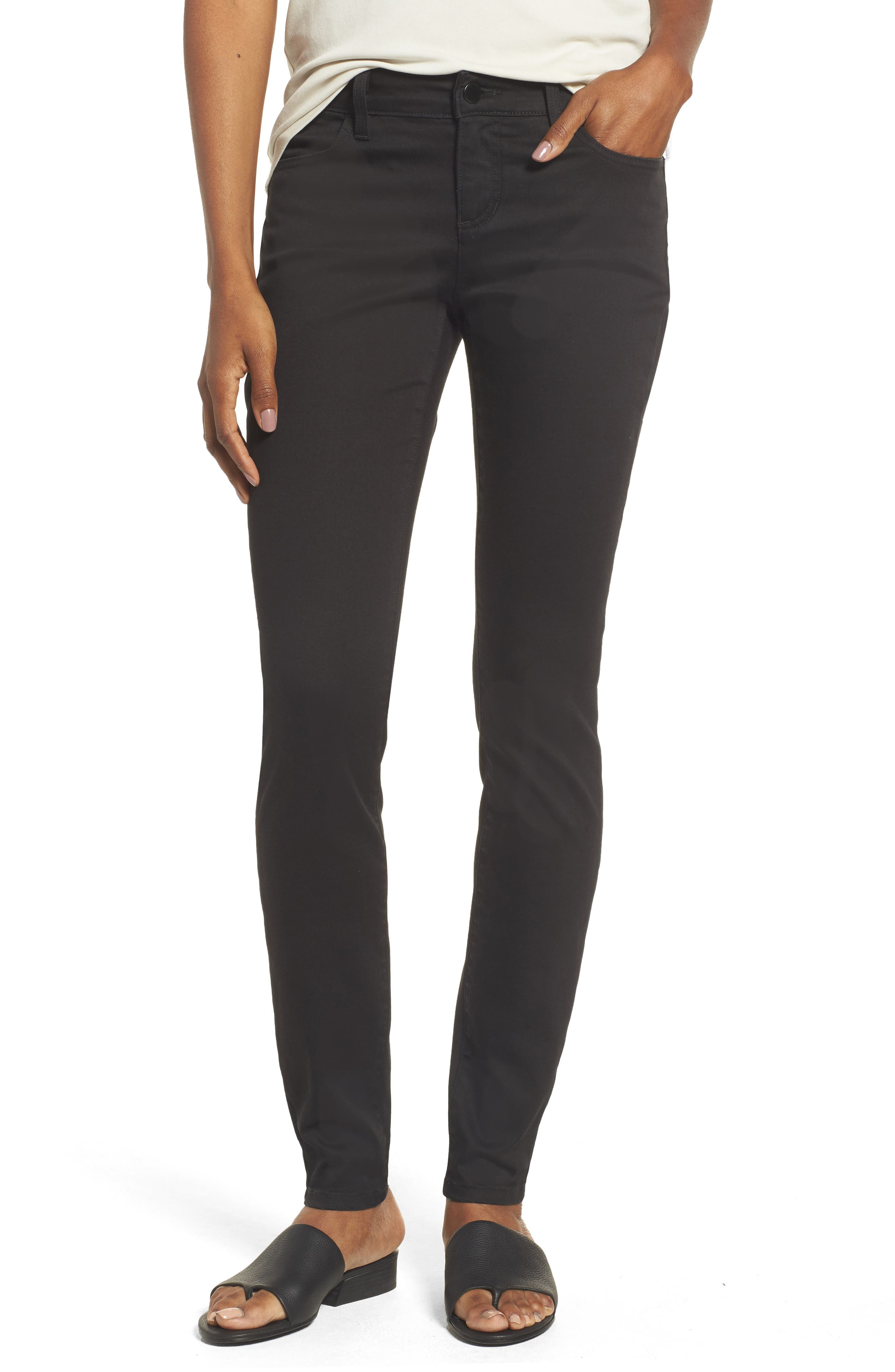 Alternate Image 1 Selected - Eileen Fisher Stretch Skinny Jeans
