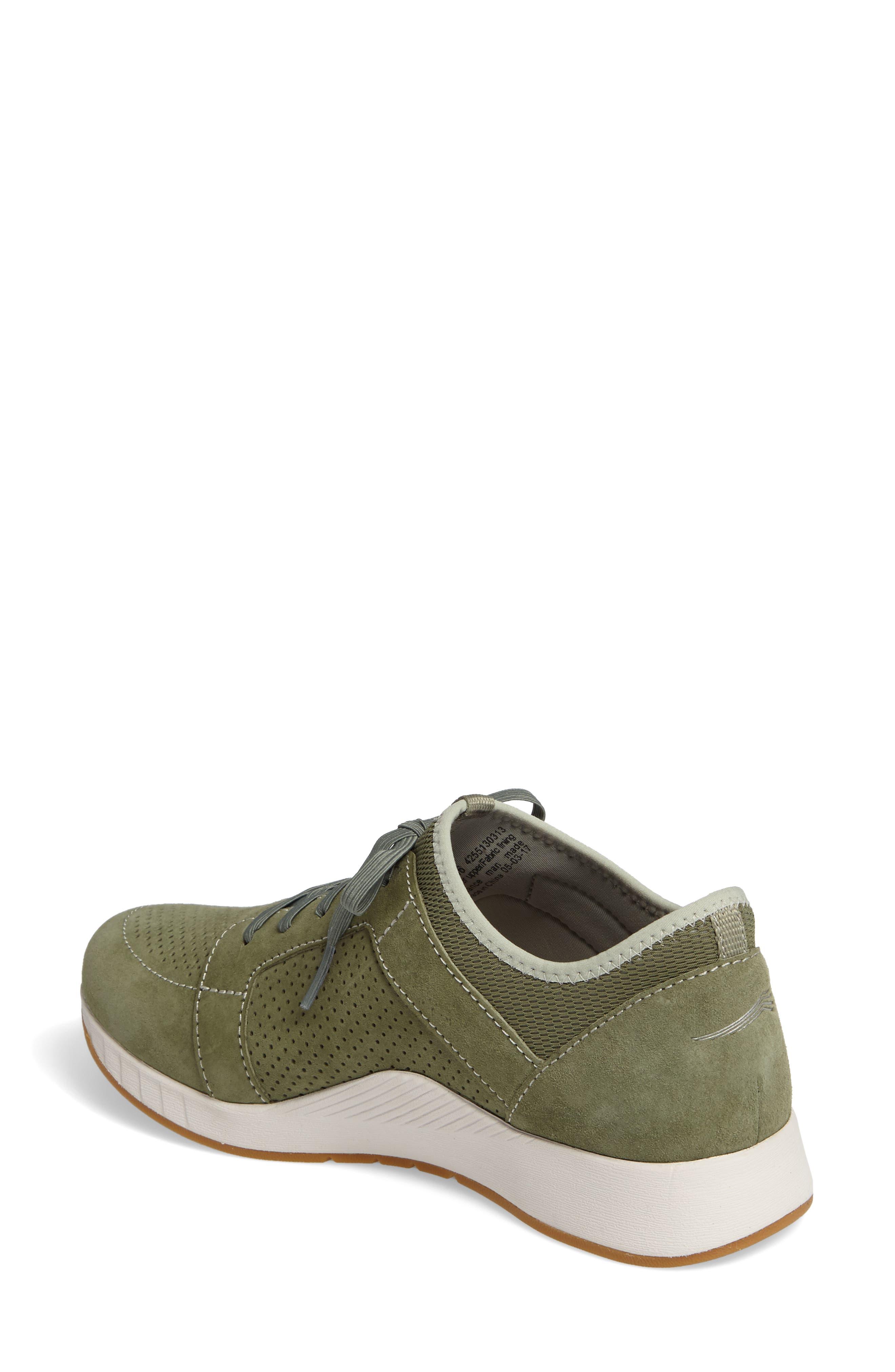 Cozette Slip-On Sneaker,                             Alternate thumbnail 2, color,                             Sage Suede