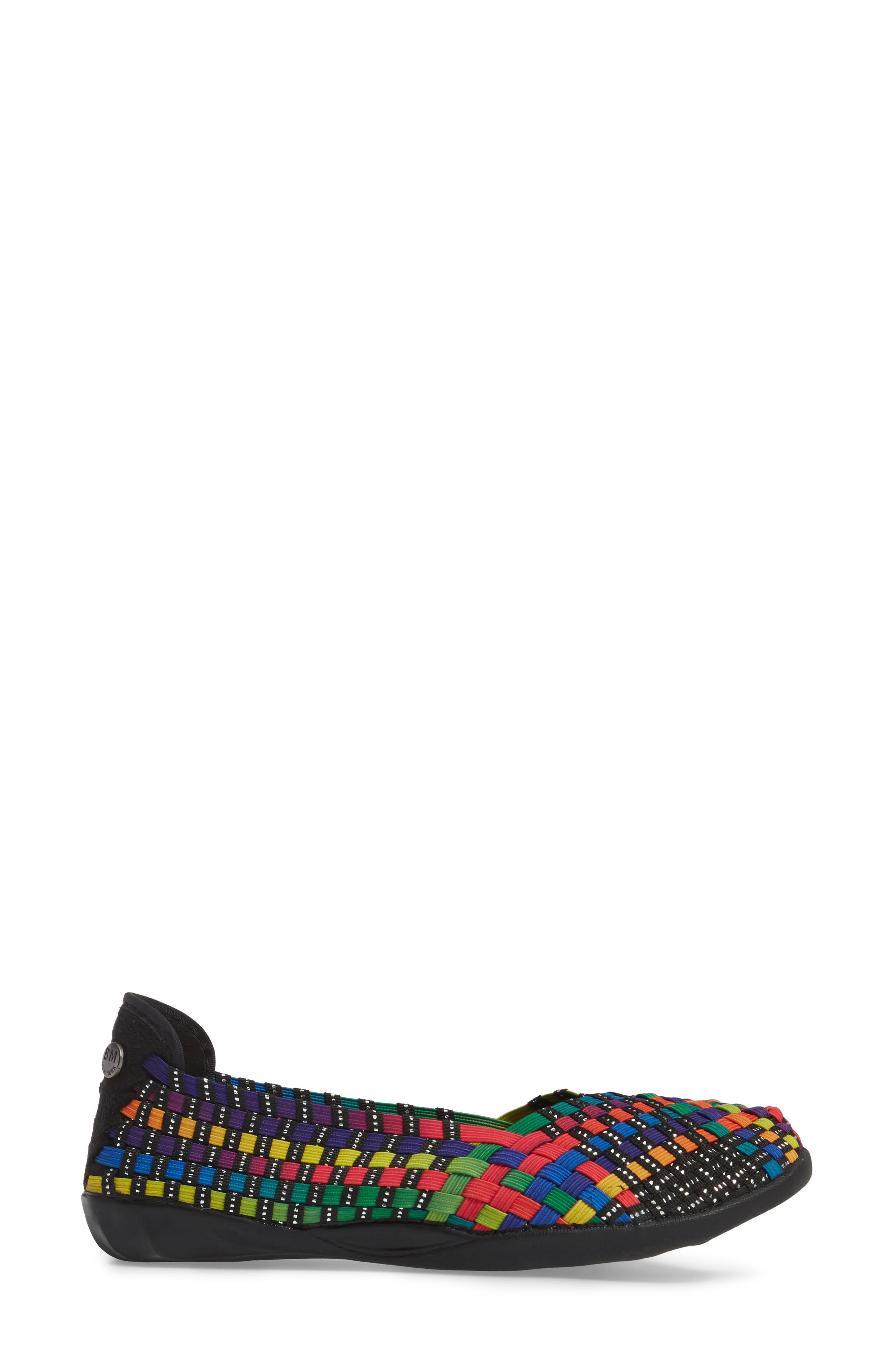 Catwalk Sneaker,                             Alternate thumbnail 3, color,                             Black Multi