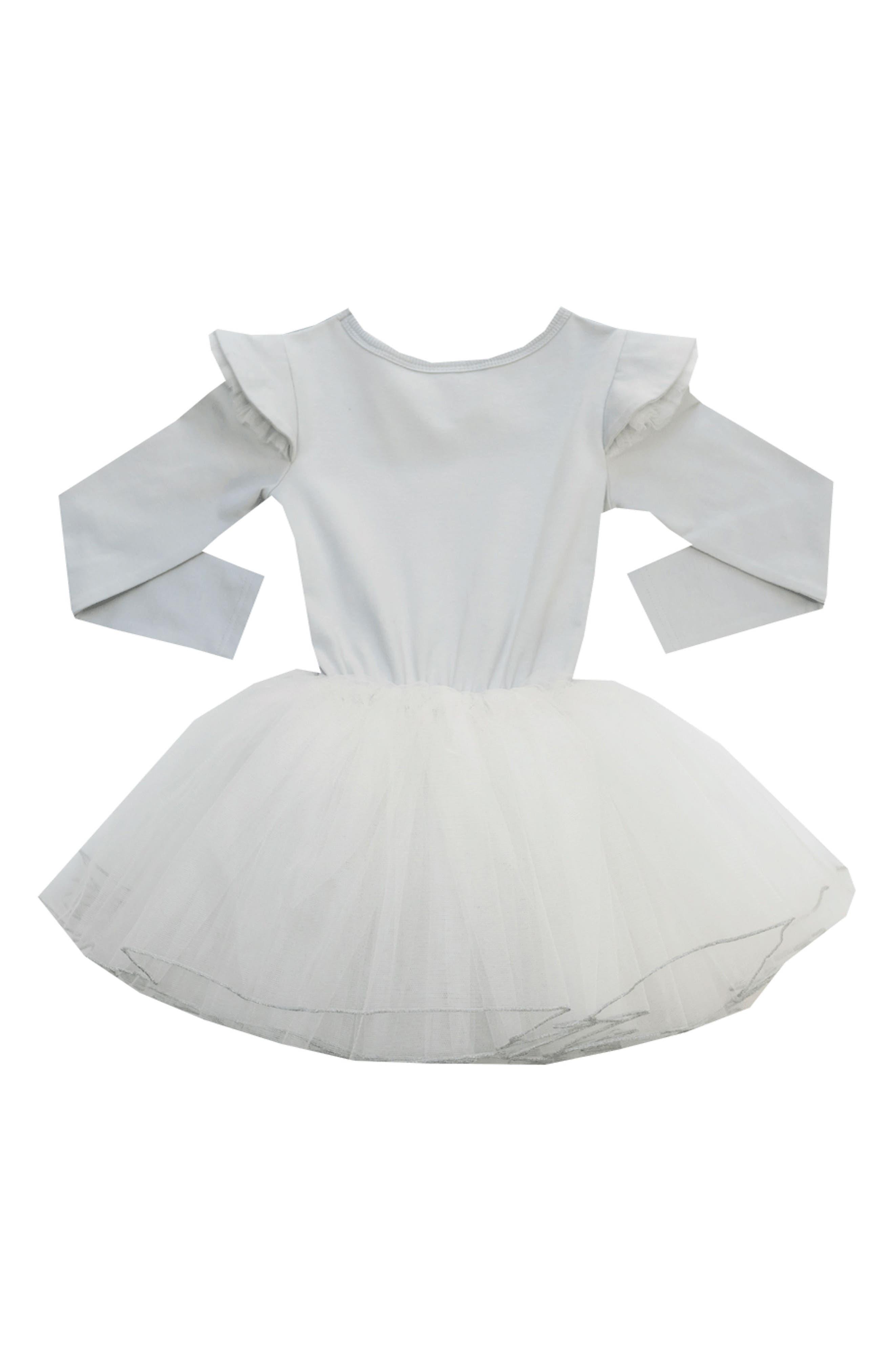 Pierrot Circus Dress,                             Alternate thumbnail 2, color,                             Silver